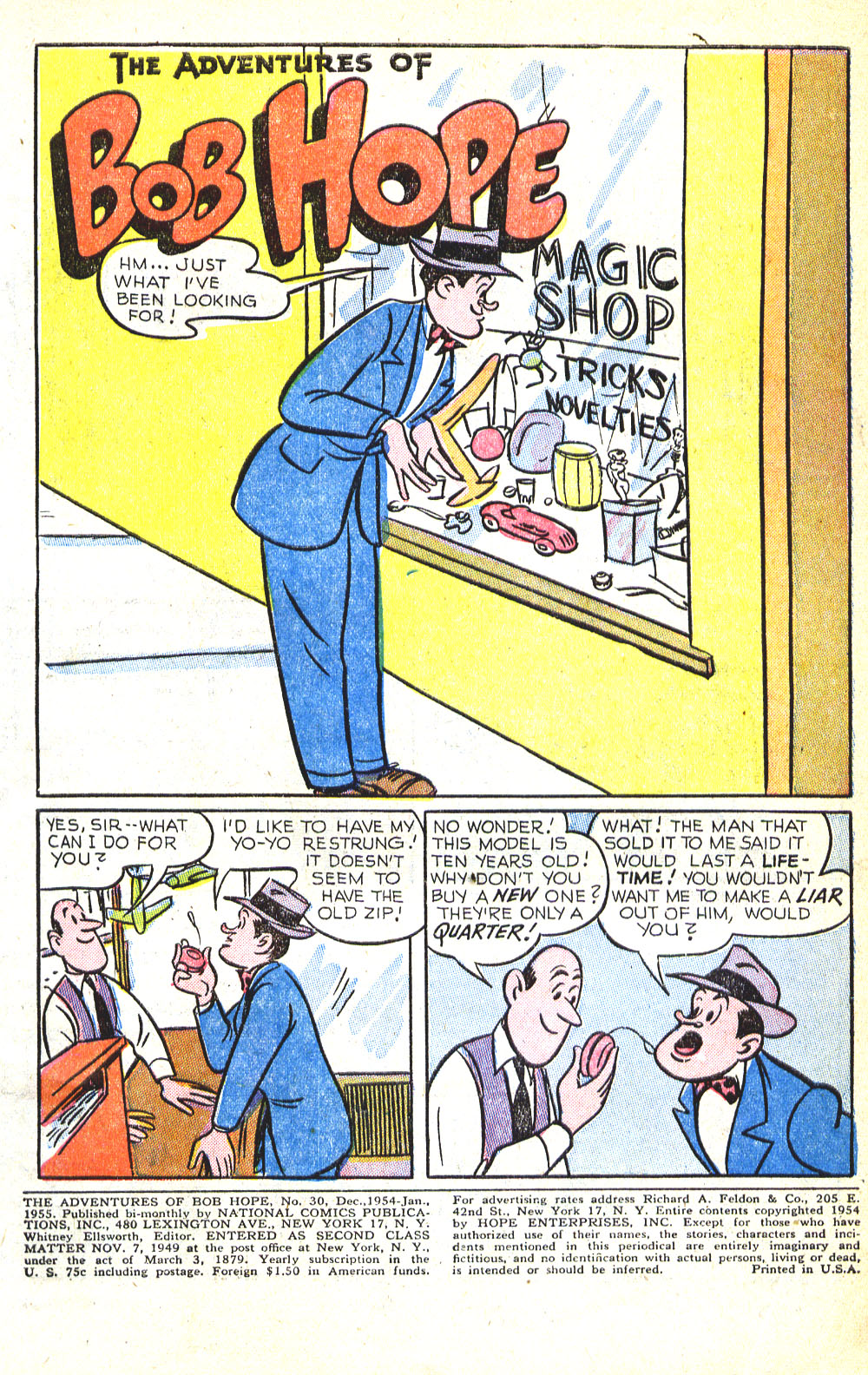 The Adventures of Bob Hope issue 30 - Page 3