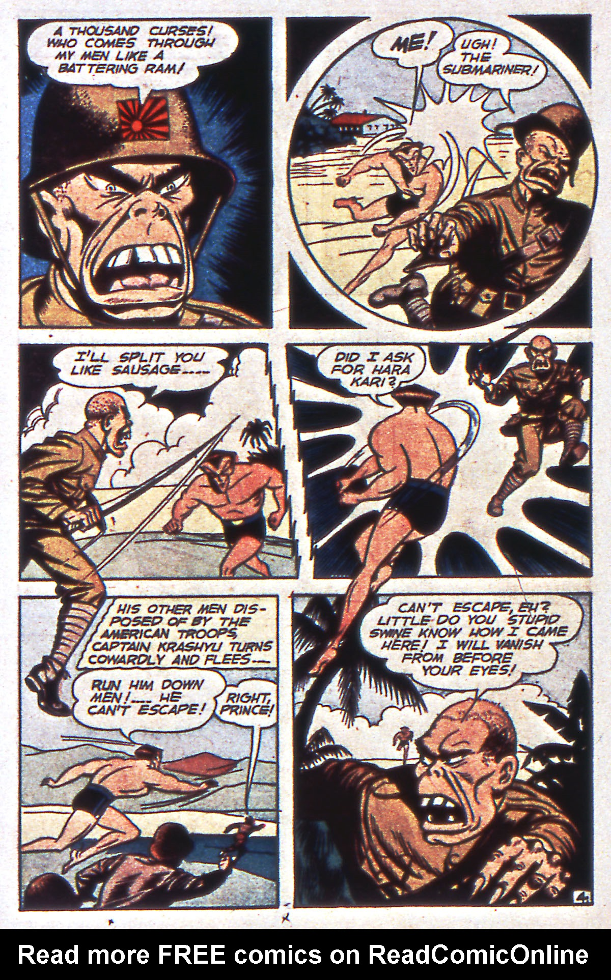 Read online All-Winners Comics comic -  Issue #12 - 32