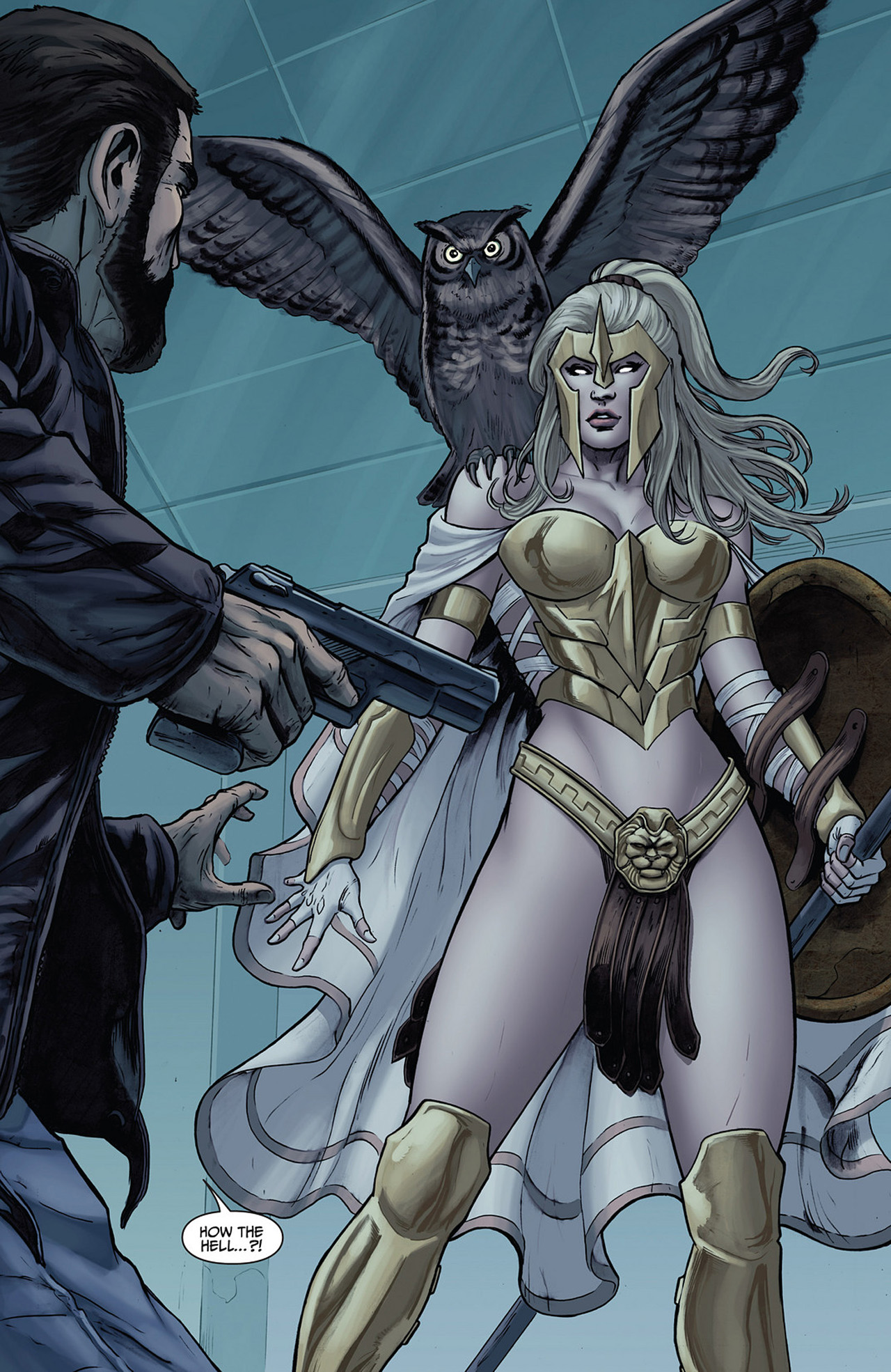 Read online Athena comic -  Issue #2 - 6