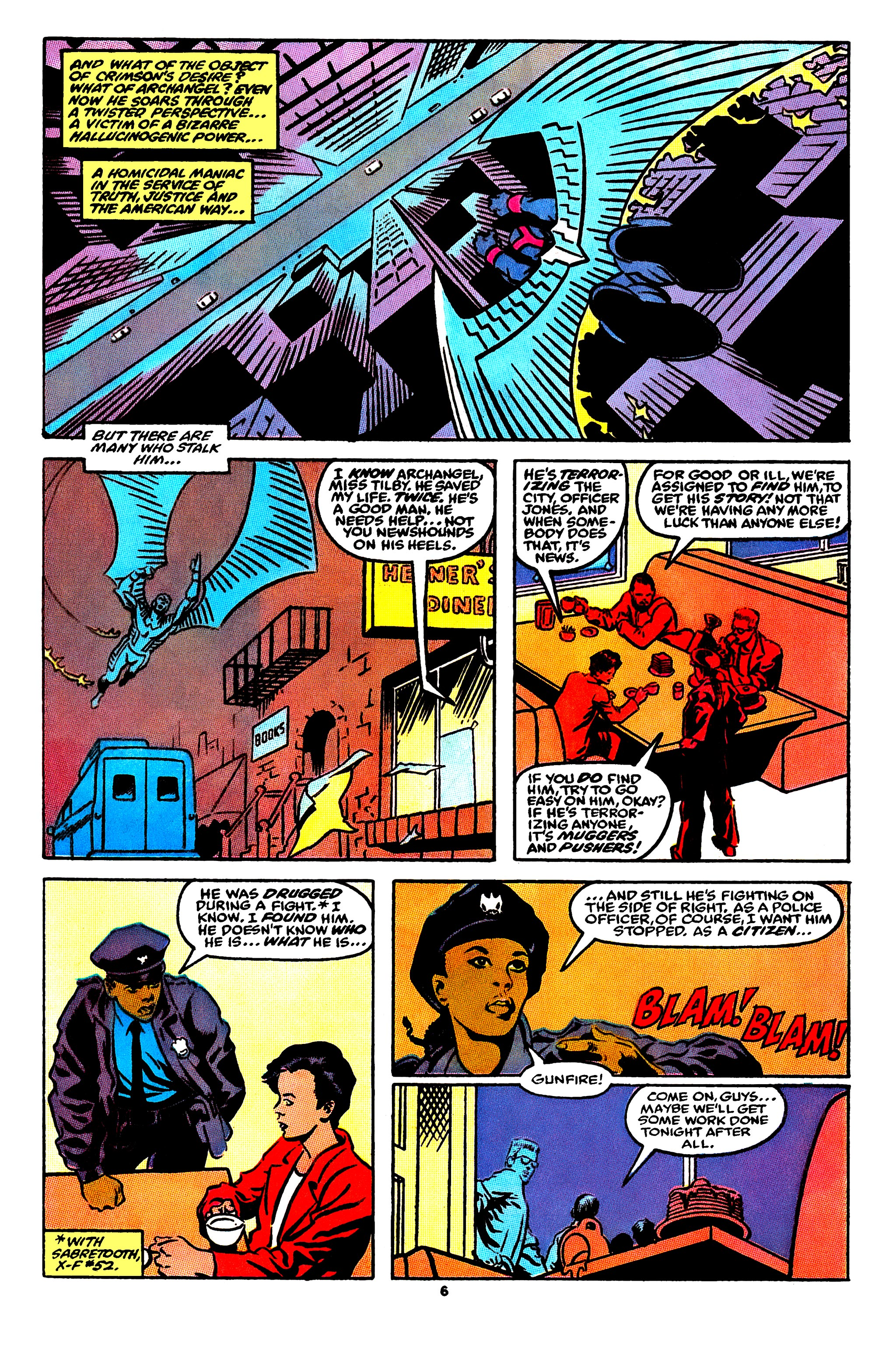 Read online X-Factor (1986) comic -  Issue #56 - 6