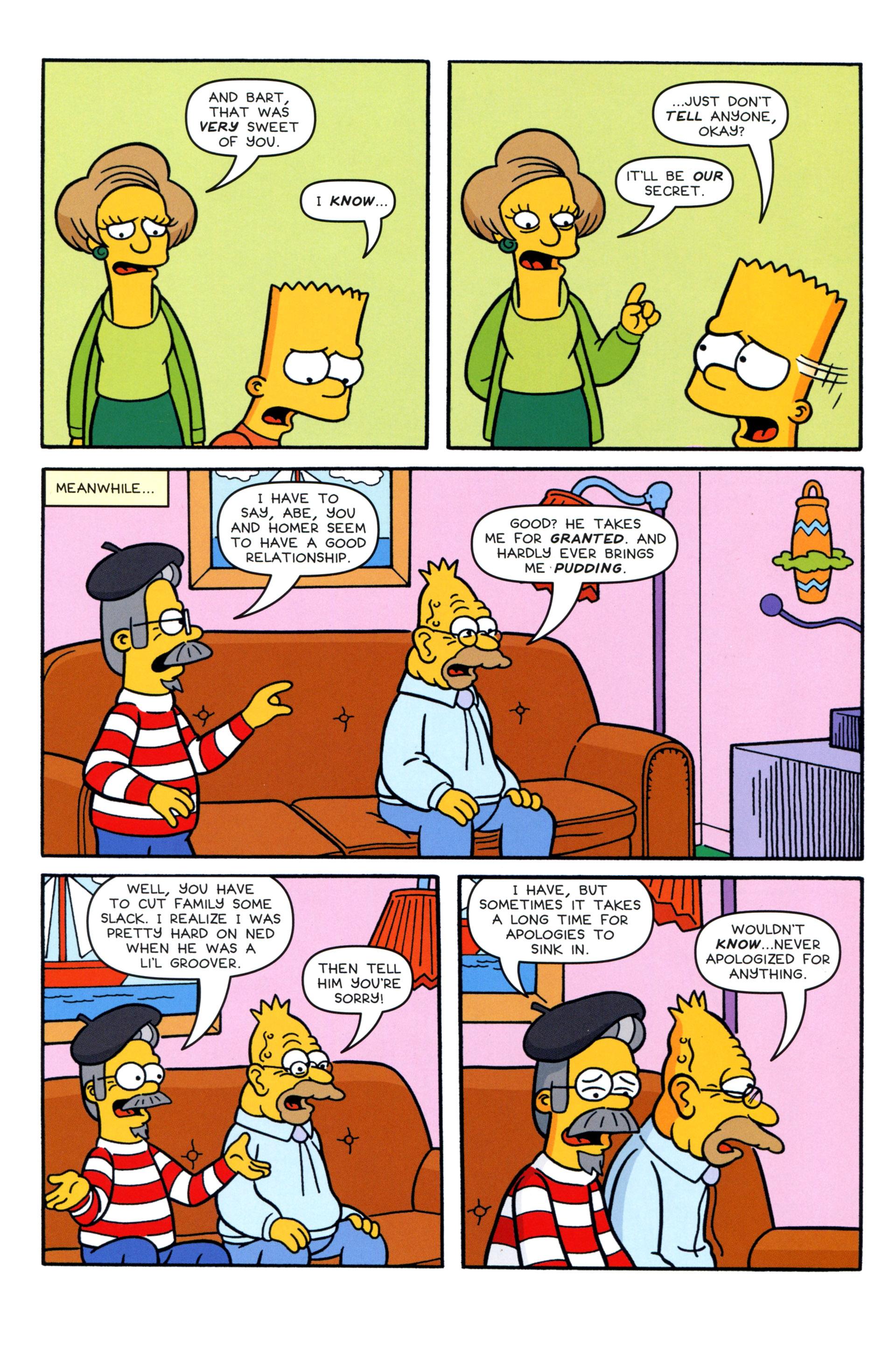 Read online Simpsons Comics comic -  Issue #204 - 19