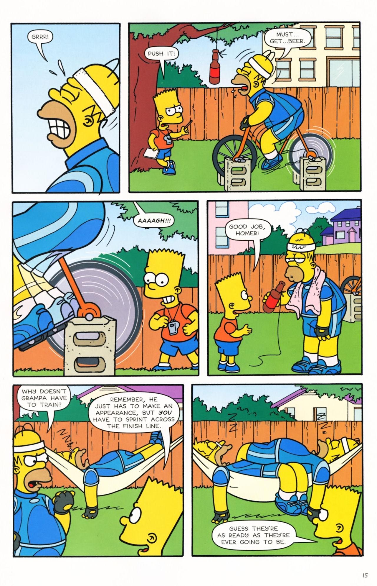 Read online Simpsons Comics comic -  Issue #166 - 12