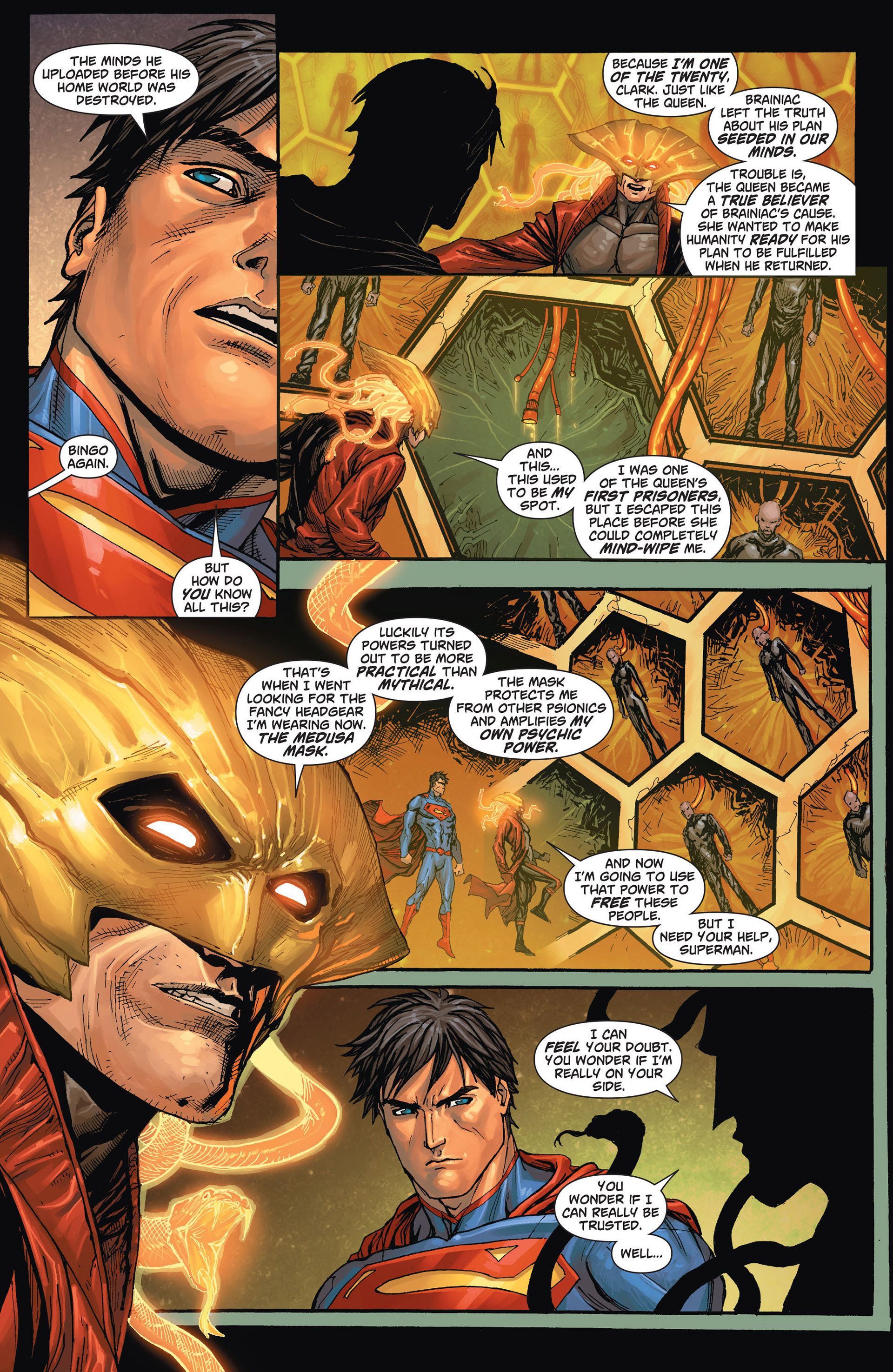 Read online Action Comics (2011) comic -  Issue #24 - 8