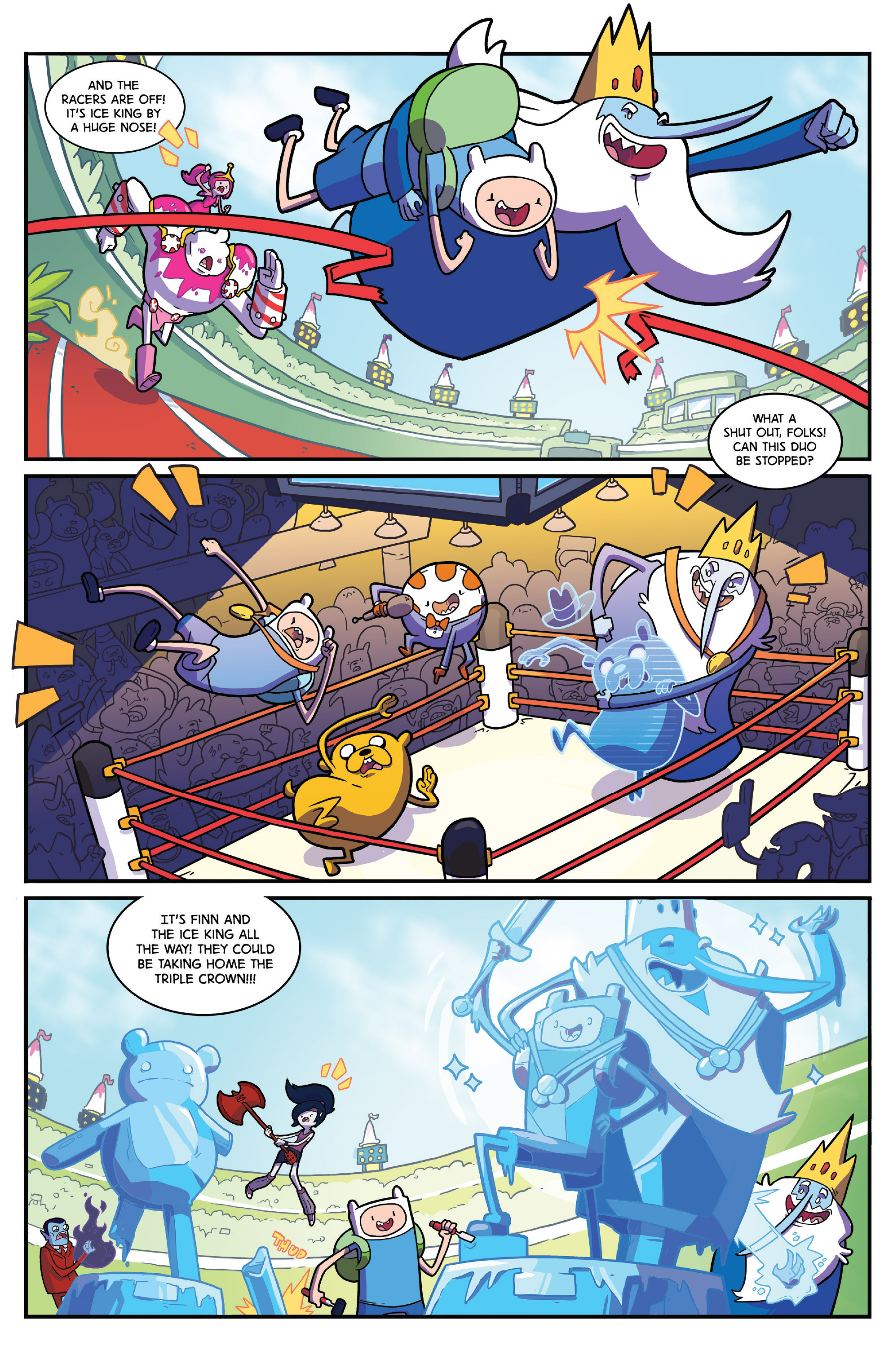 Read online Adventure Time comic -  Issue #41 - 21