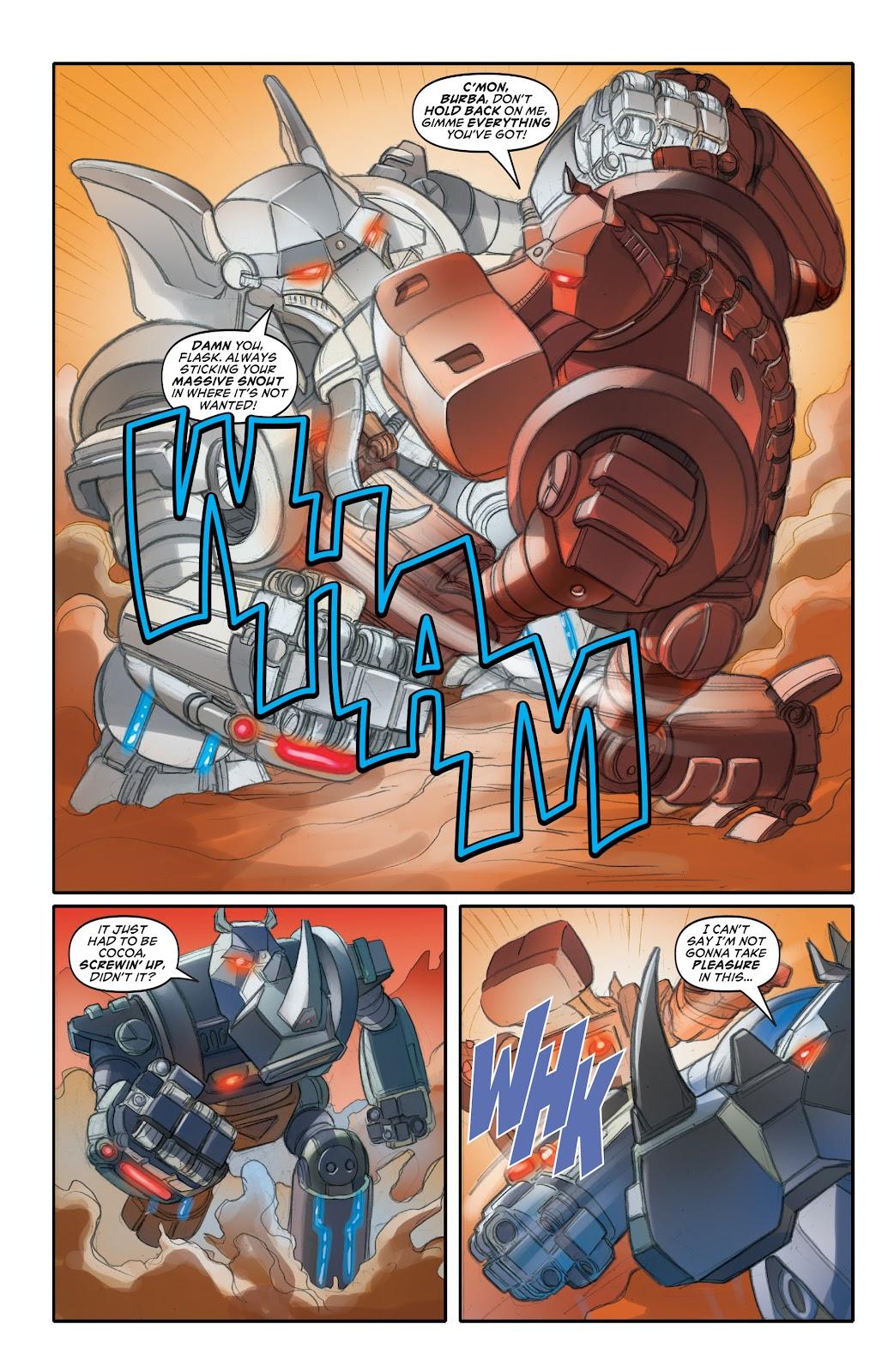 Read online Elephantmen 2261 Season Two: The Pentalion Job comic -  Issue # TPB - 63
