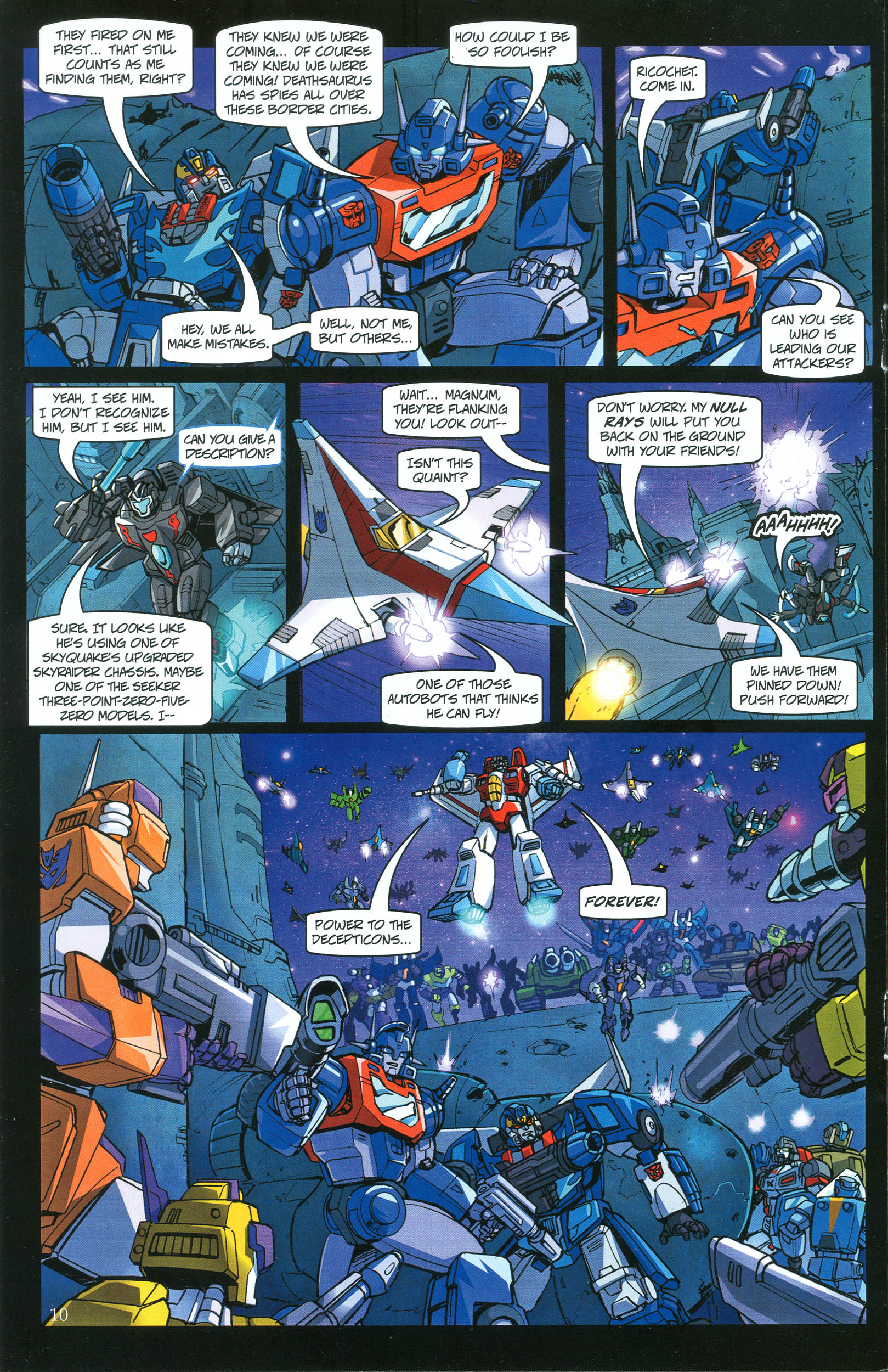 Read online Transformers: Collectors' Club comic -  Issue #39 - 10