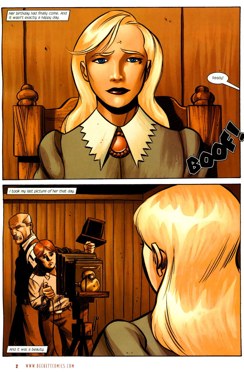 Read online The Ballad of Sleeping Beauty comic -  Issue #6 - 4