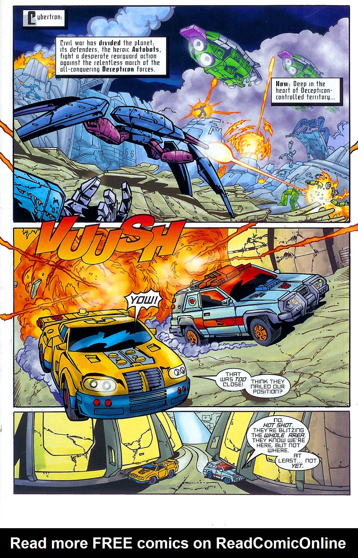 Read online Transformers: The Balance of Power comic -  Issue # Full - 4