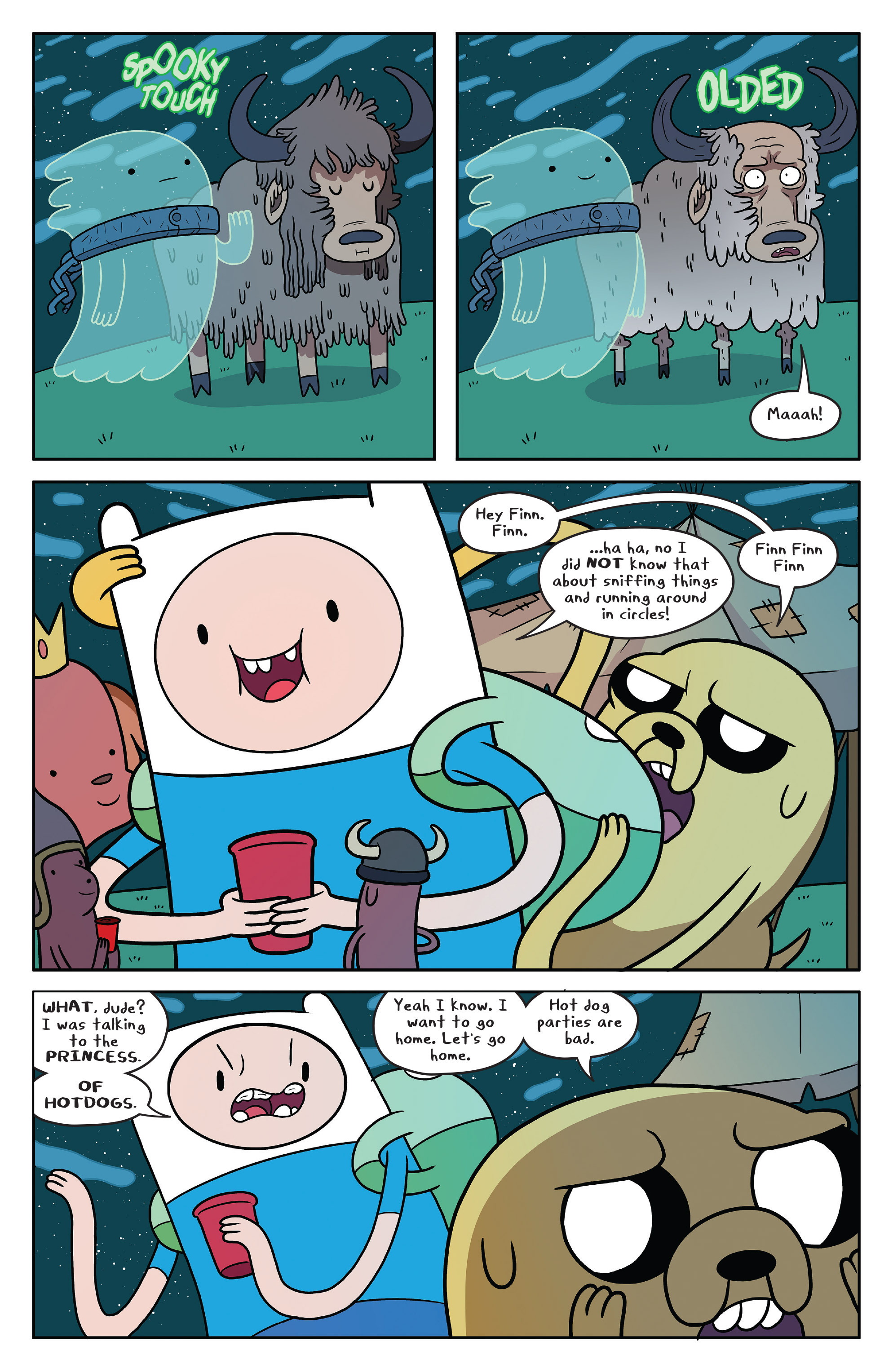 Read online Adventure Time comic -  Issue #51 - 5