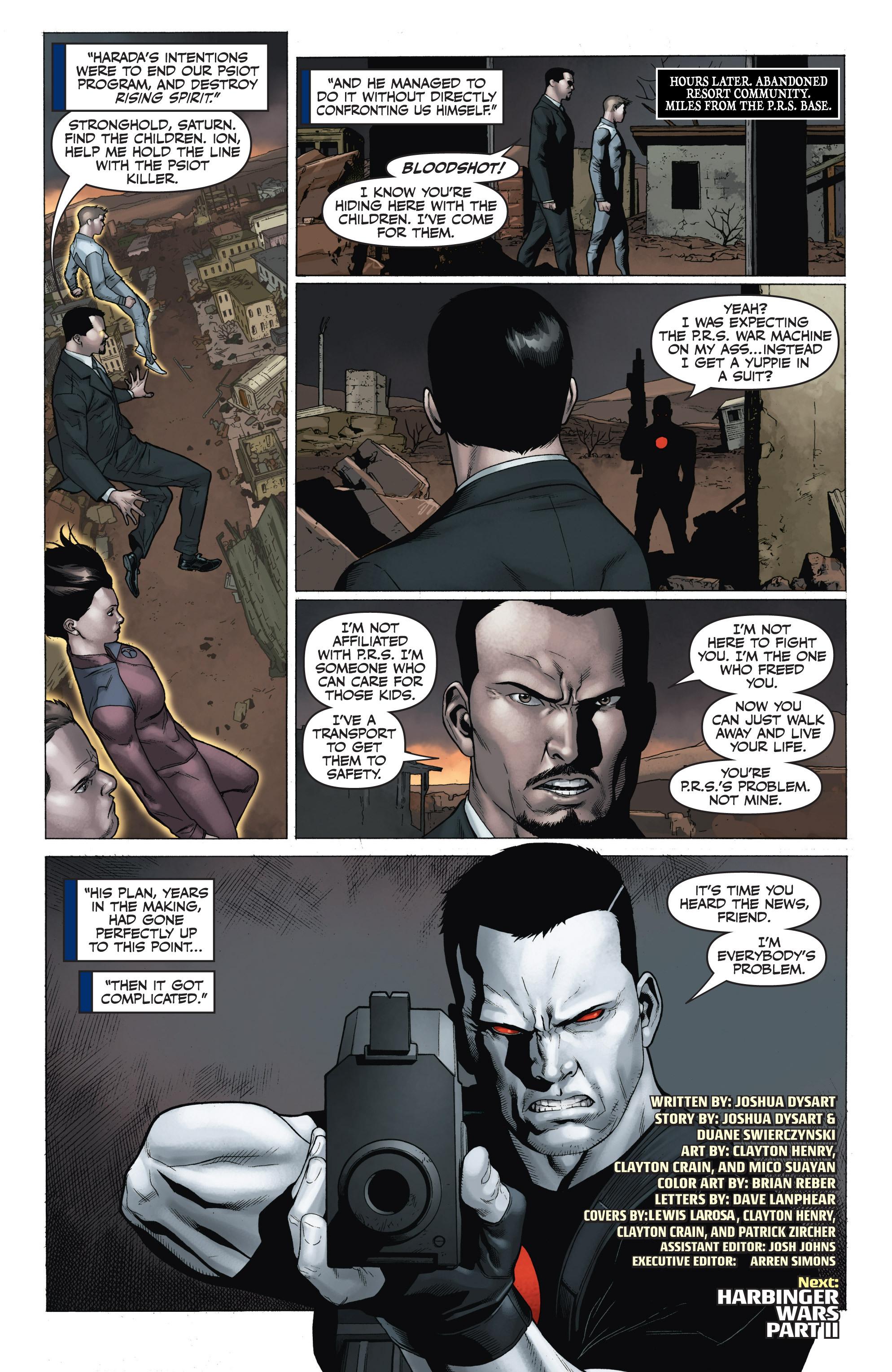 Read online Armor Hunters: Harbinger comic -  Issue # TPB - 104