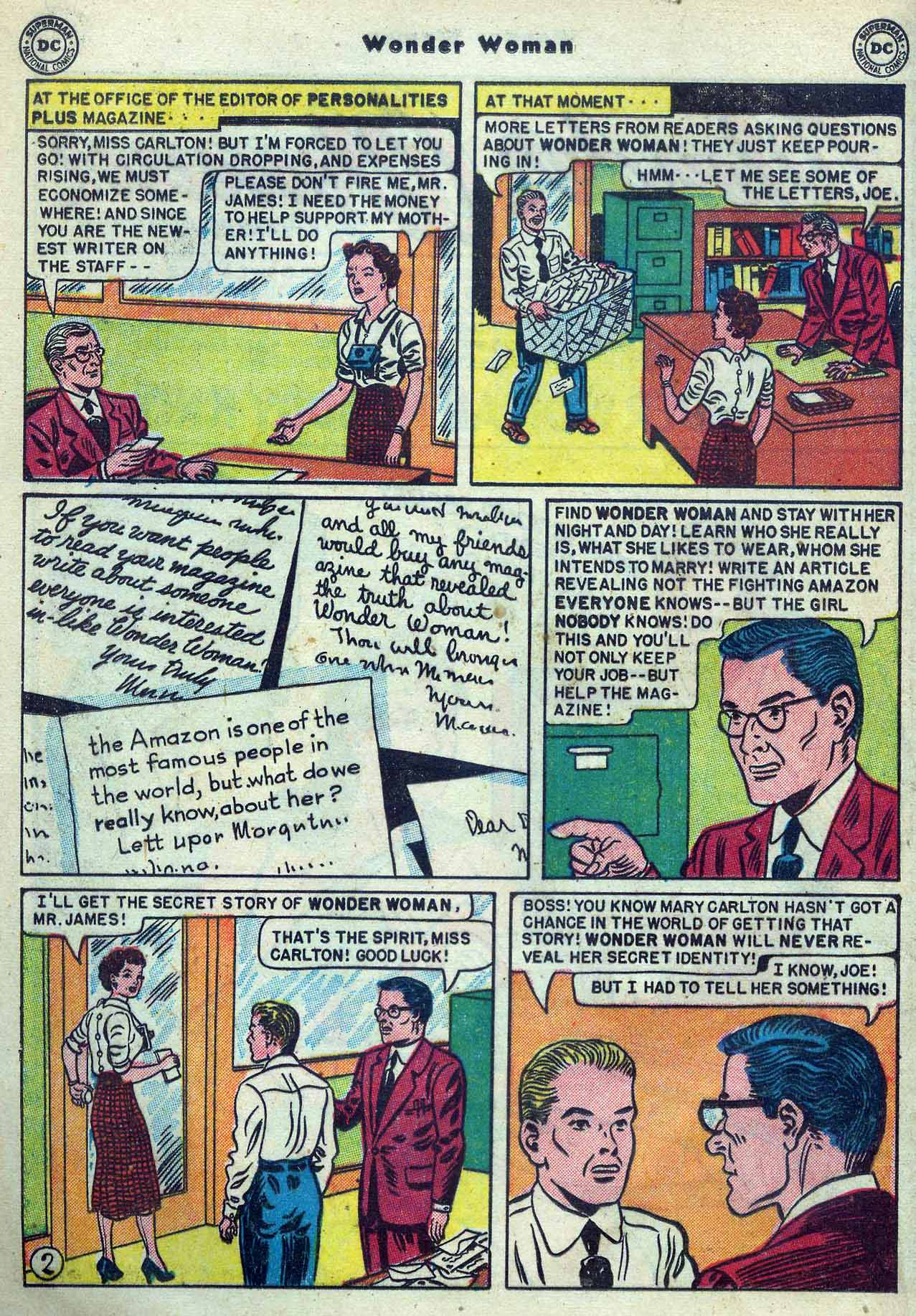 Read online Wonder Woman (1942) comic -  Issue #53 - 16