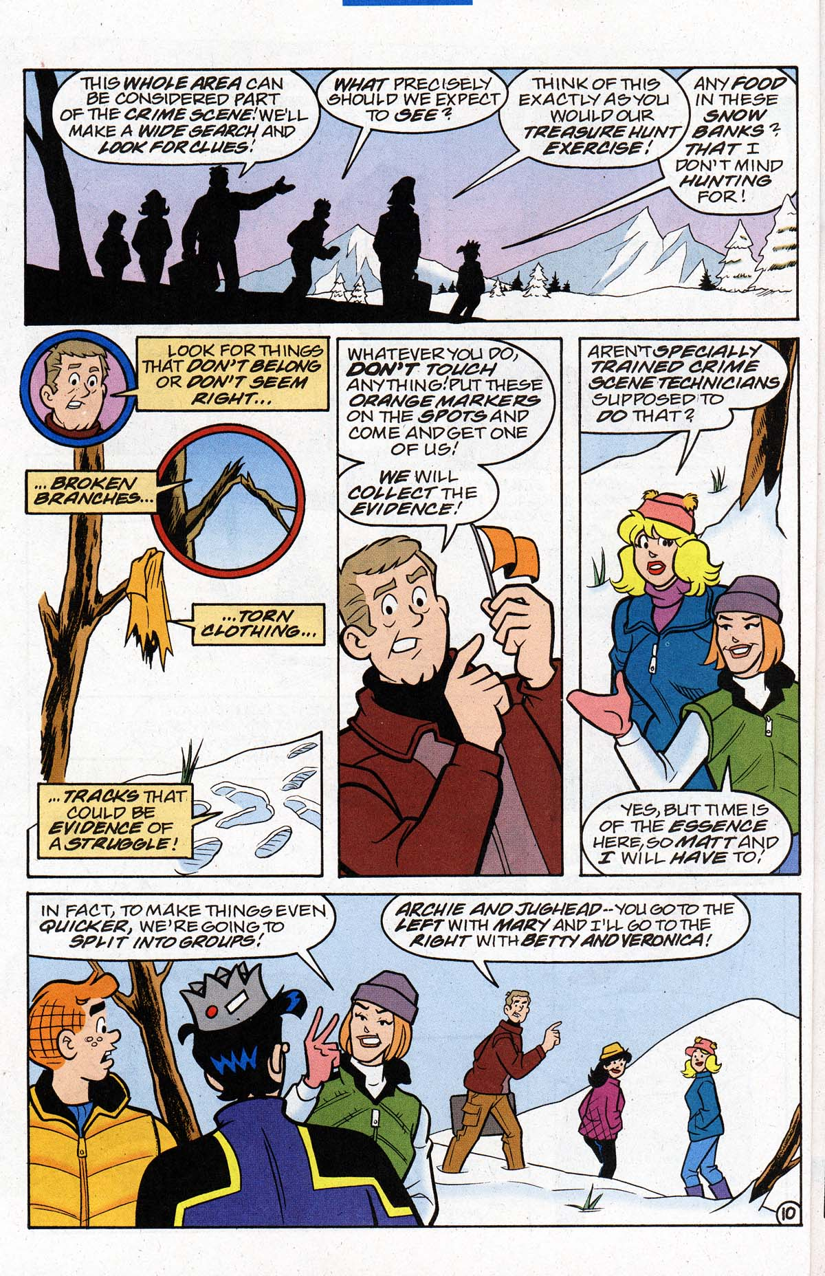 Read online Archie's Weird Mysteries comic -  Issue #26 - 13