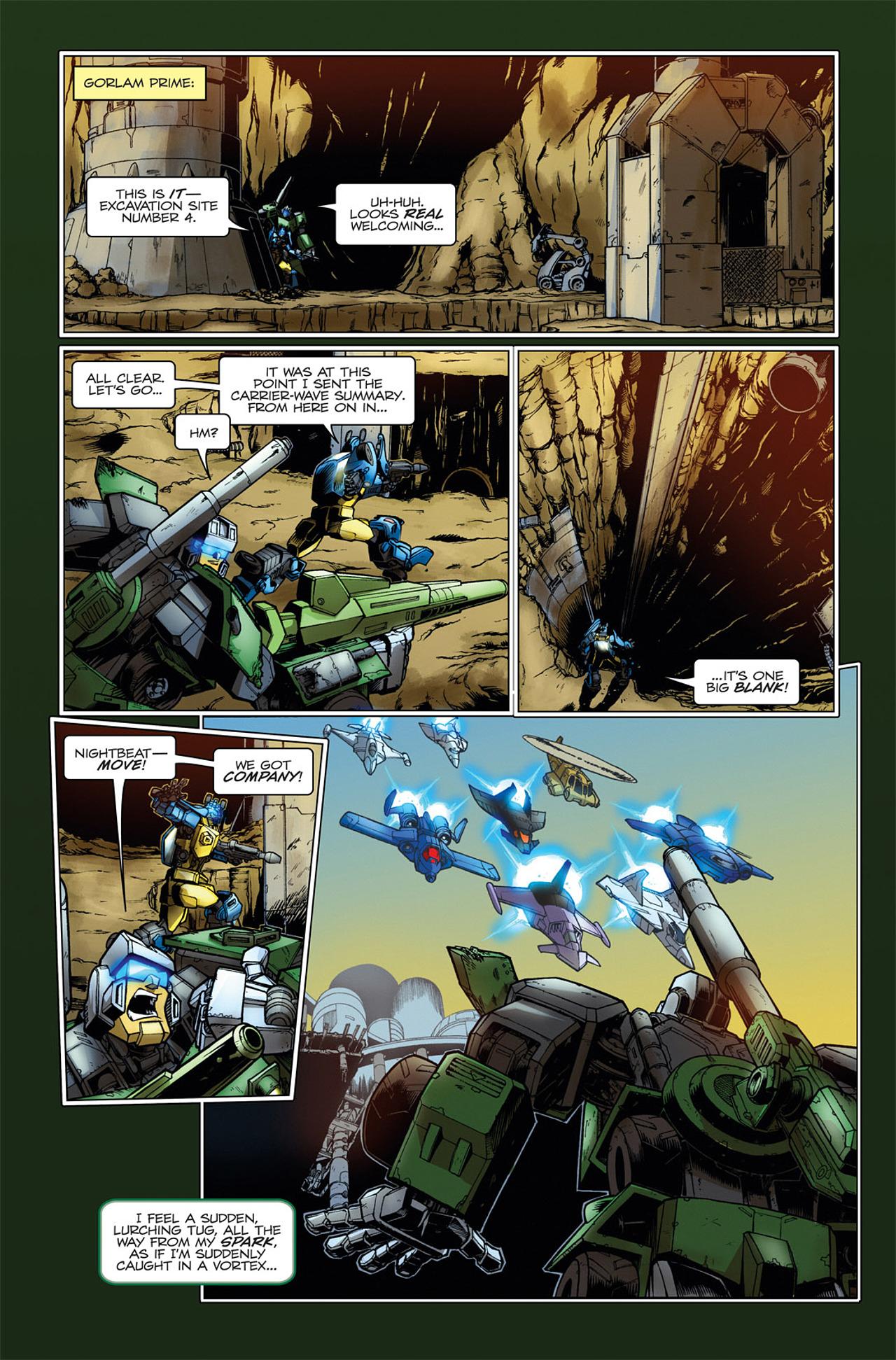 Read online Transformers Spotlight: Hardhead comic -  Issue # Full - 15