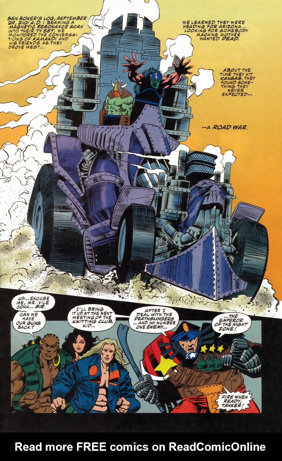 Read online Kamandi: At Earth's End comic -  Issue #4 - 3