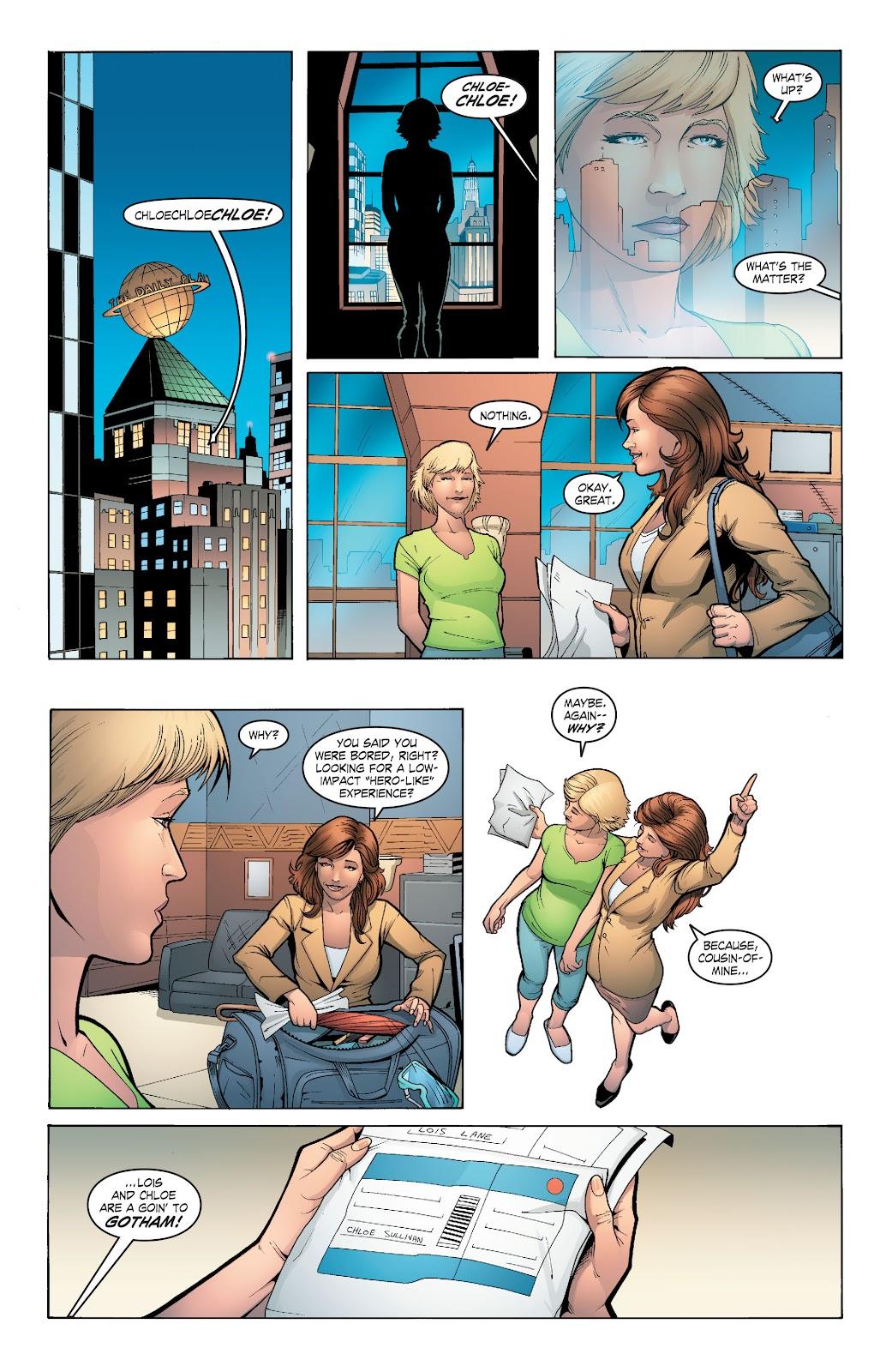 Read online Smallville Season 11 [II] comic -  Issue # TPB 6 - 90