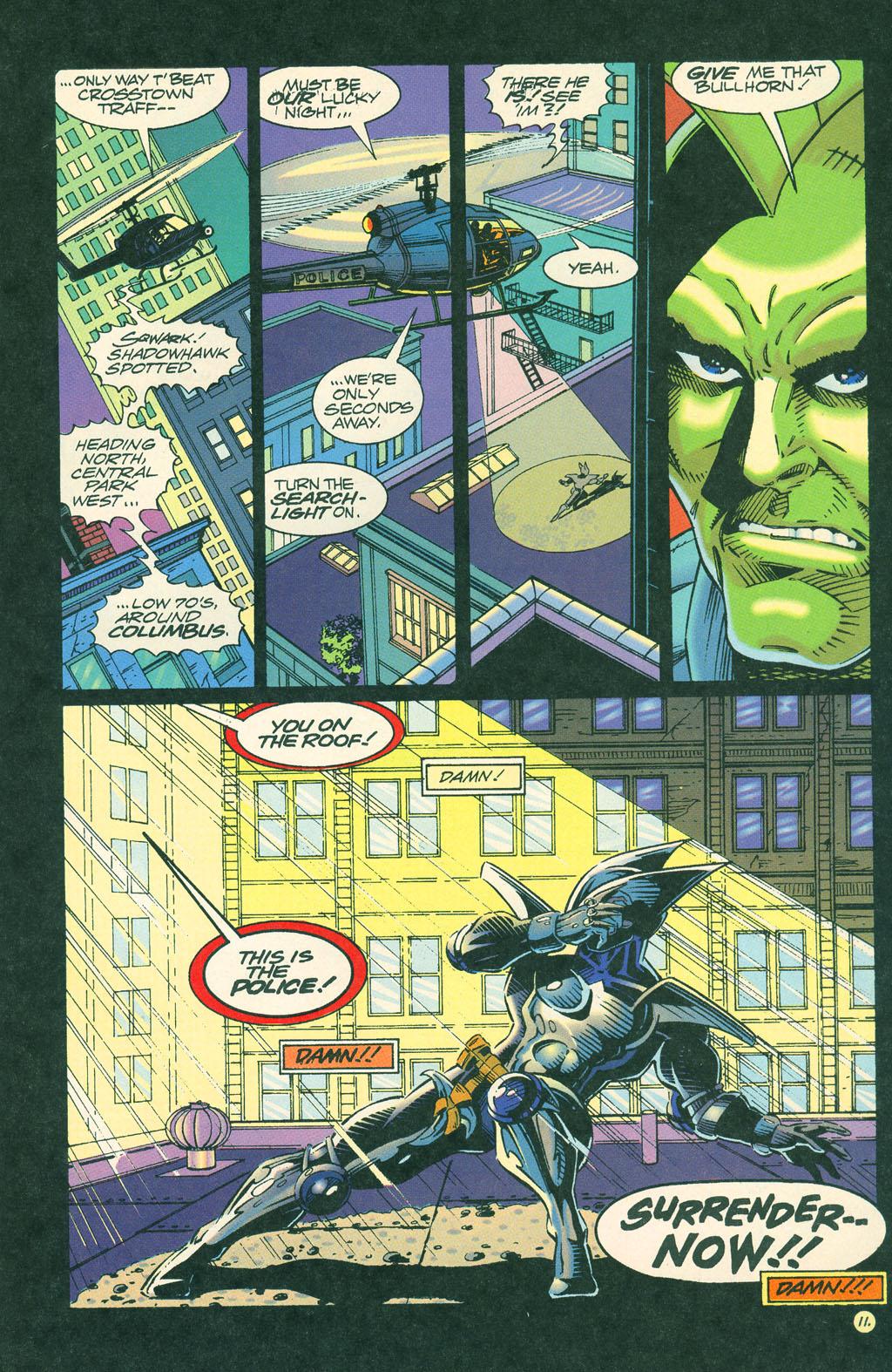 Read online ShadowHawk comic -  Issue #4 - 14