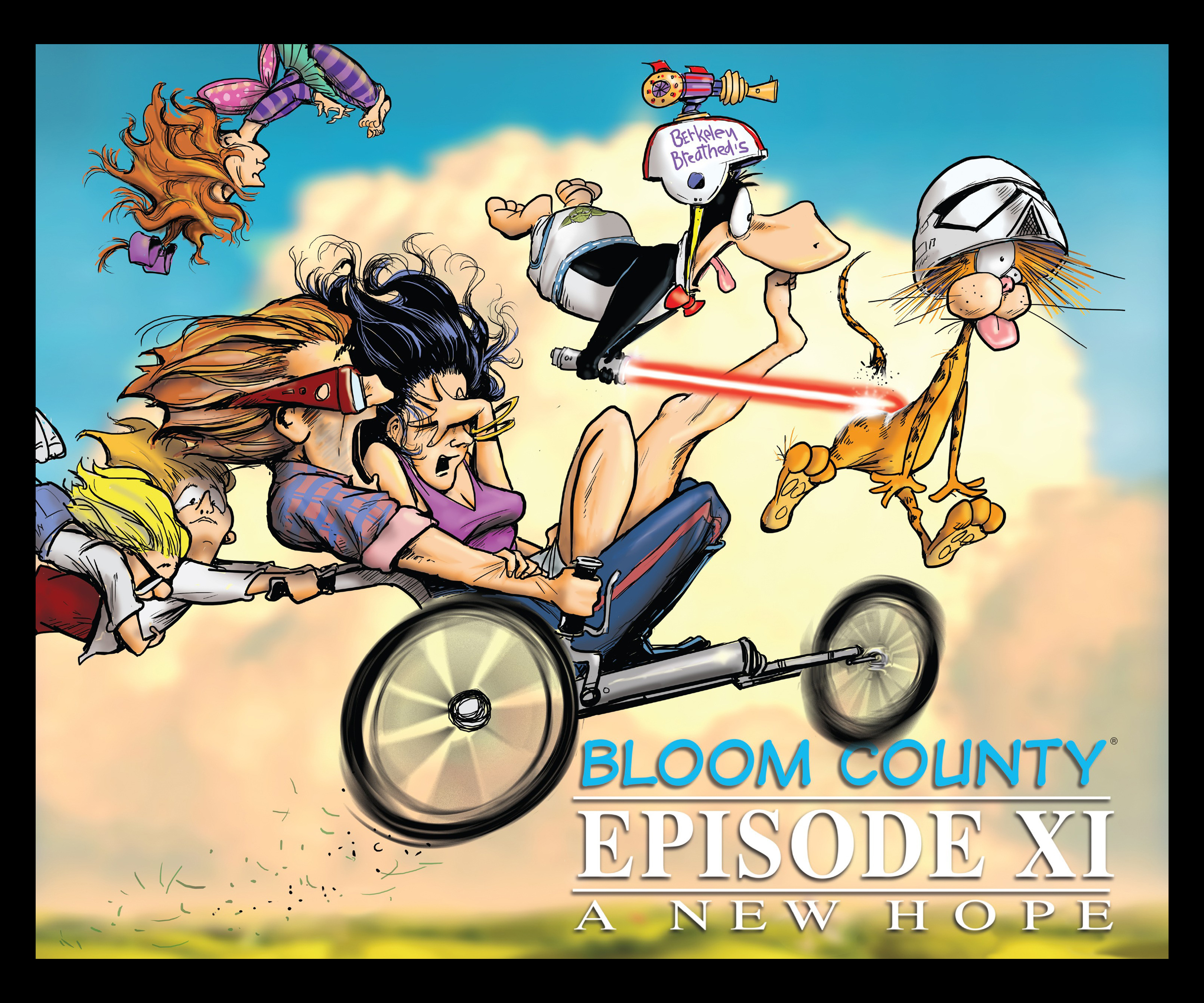 Read online Bloom County Episode XI: A New Hope comic -  Issue # Full - 1