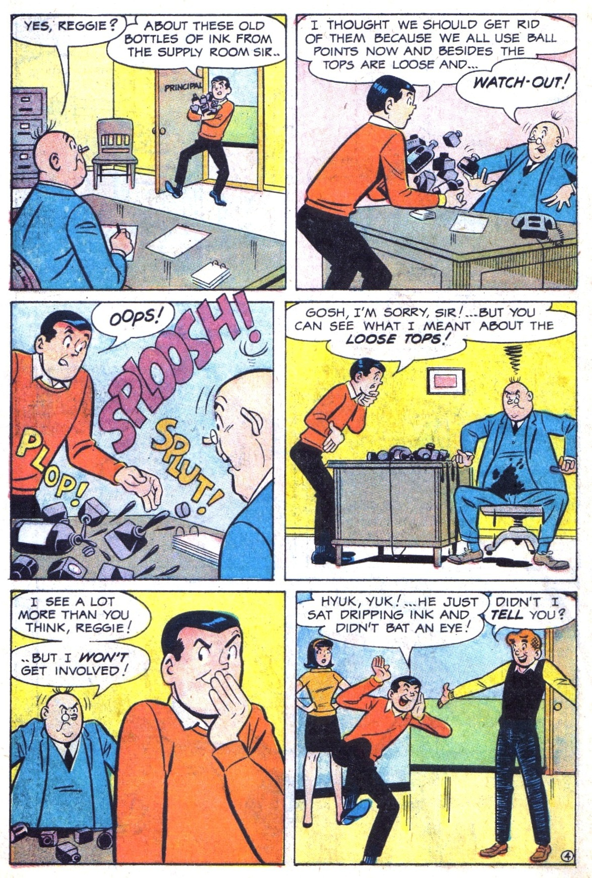 Read online Archie (1960) comic -  Issue #173 - 6