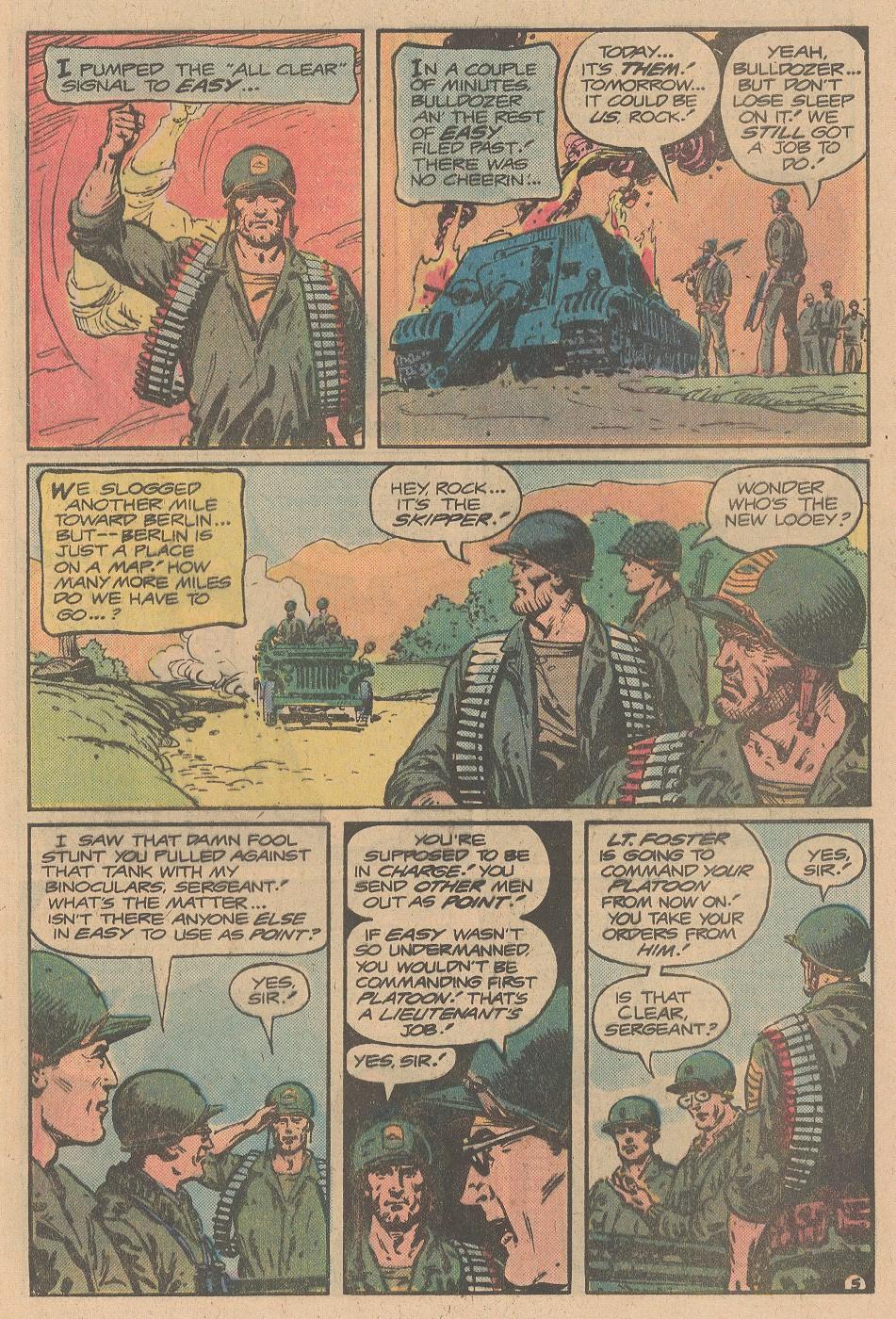 Read online Sgt. Rock comic -  Issue #356 - 6