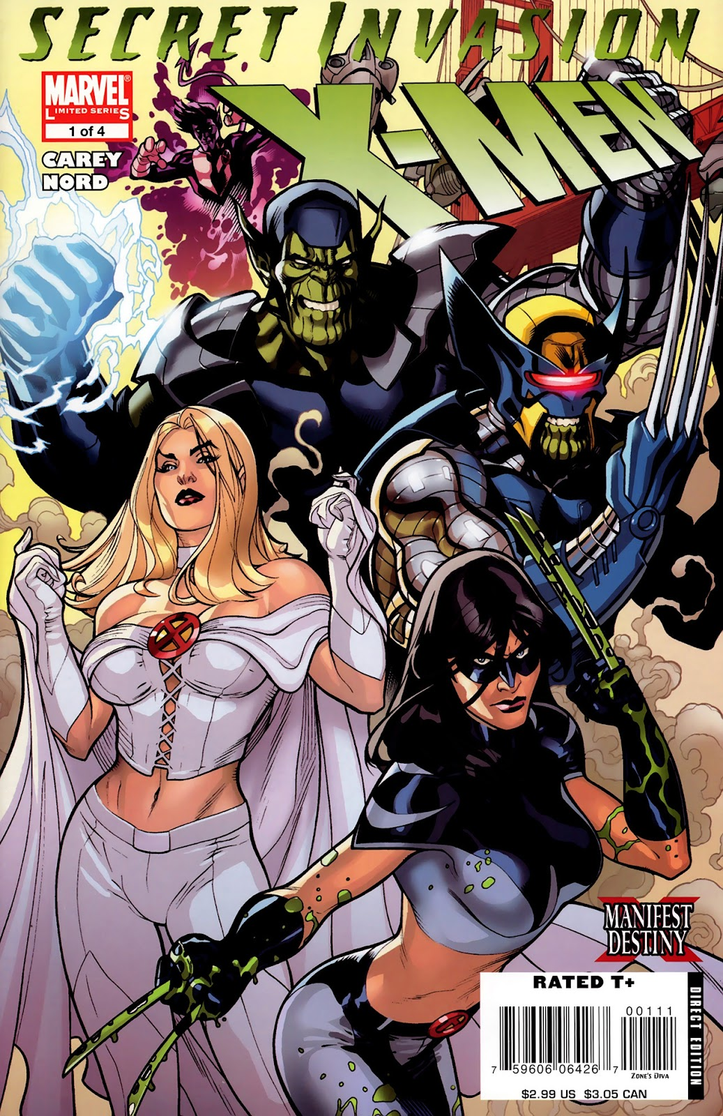 Secret Invasion: X-Men issue 1 - Page 1