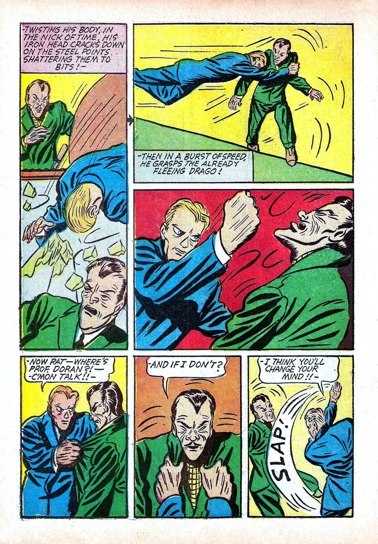 Read online Amazing Man Comics comic -  Issue #11 - 26