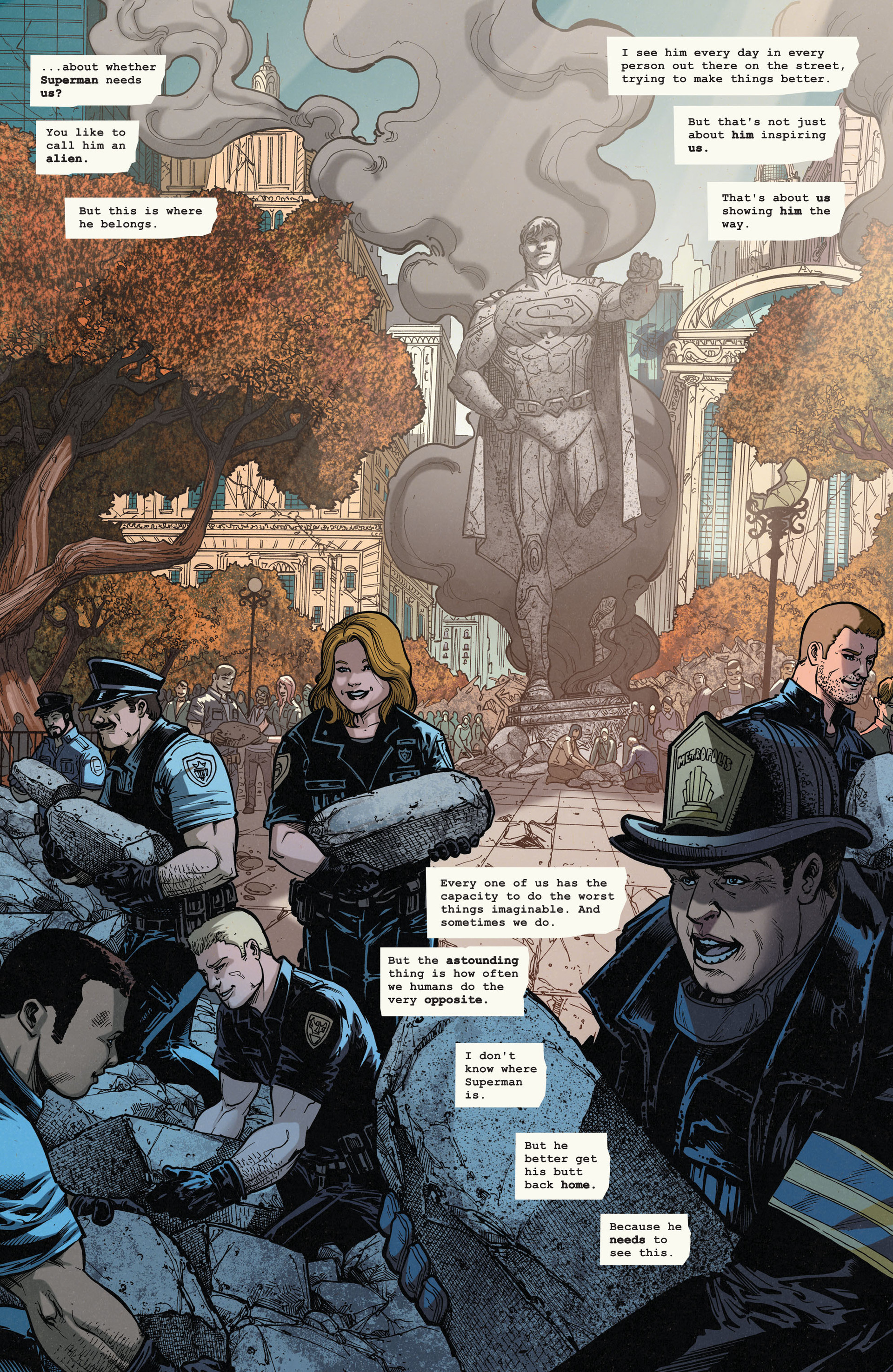 Read online Action Comics (2011) comic -  Issue #35 - 20