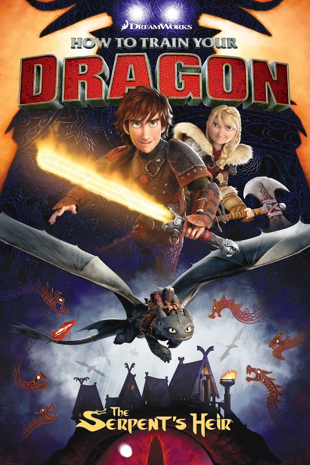 How To Train Your Dragon: The Serpent's Heir issue TPB - Page 1
