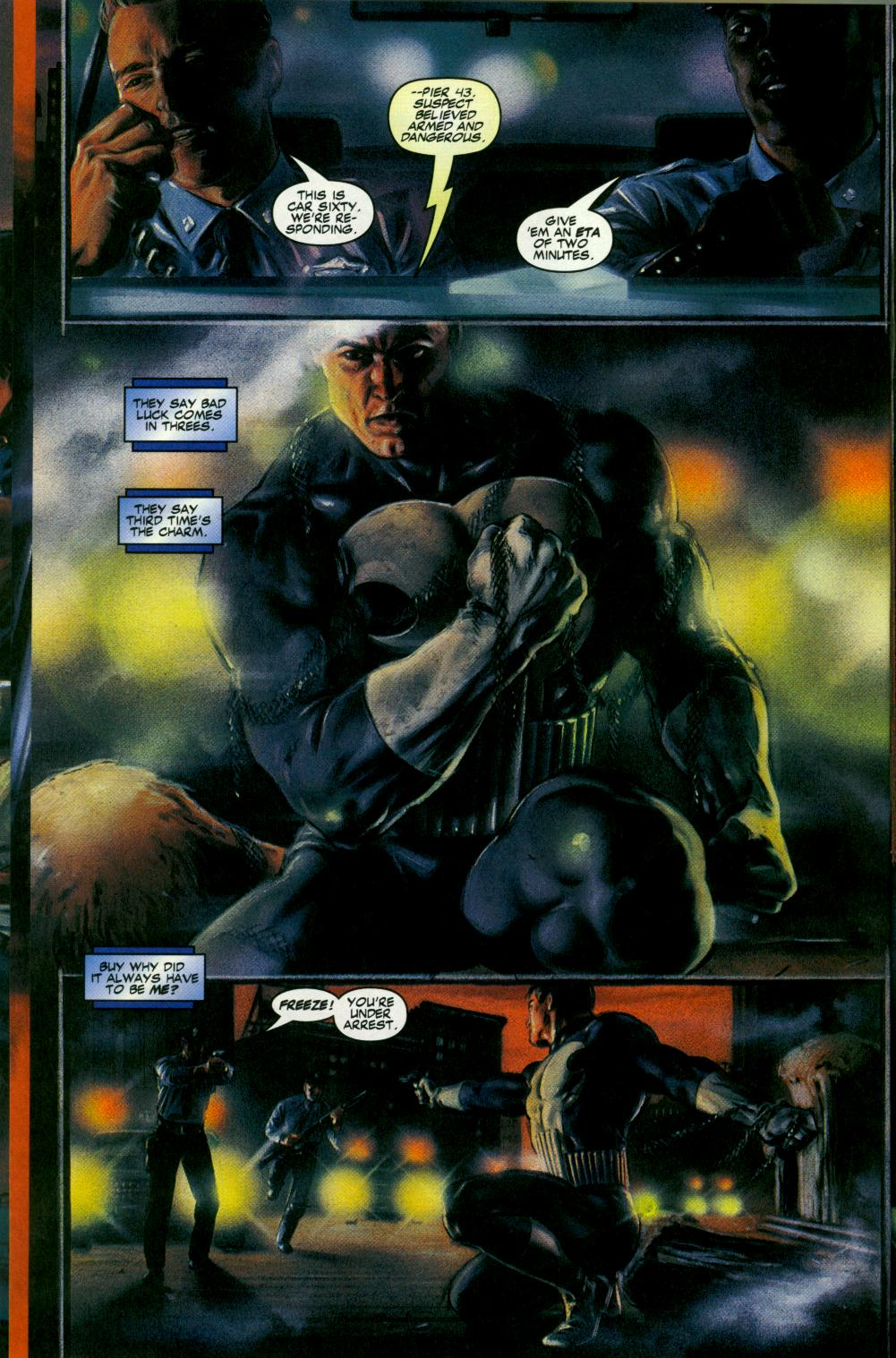 Read online Code of Honor comic -  Issue #3 - 19
