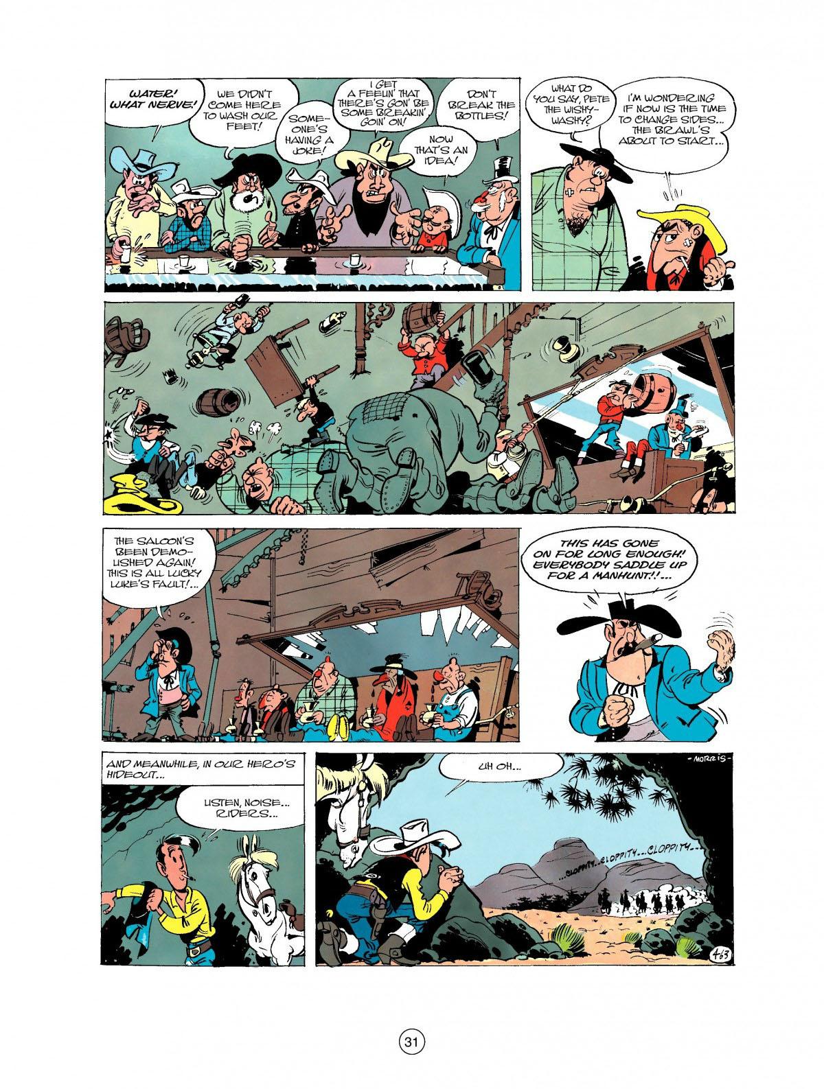 Read online A Lucky Luke Adventure comic -  Issue #27 - 32