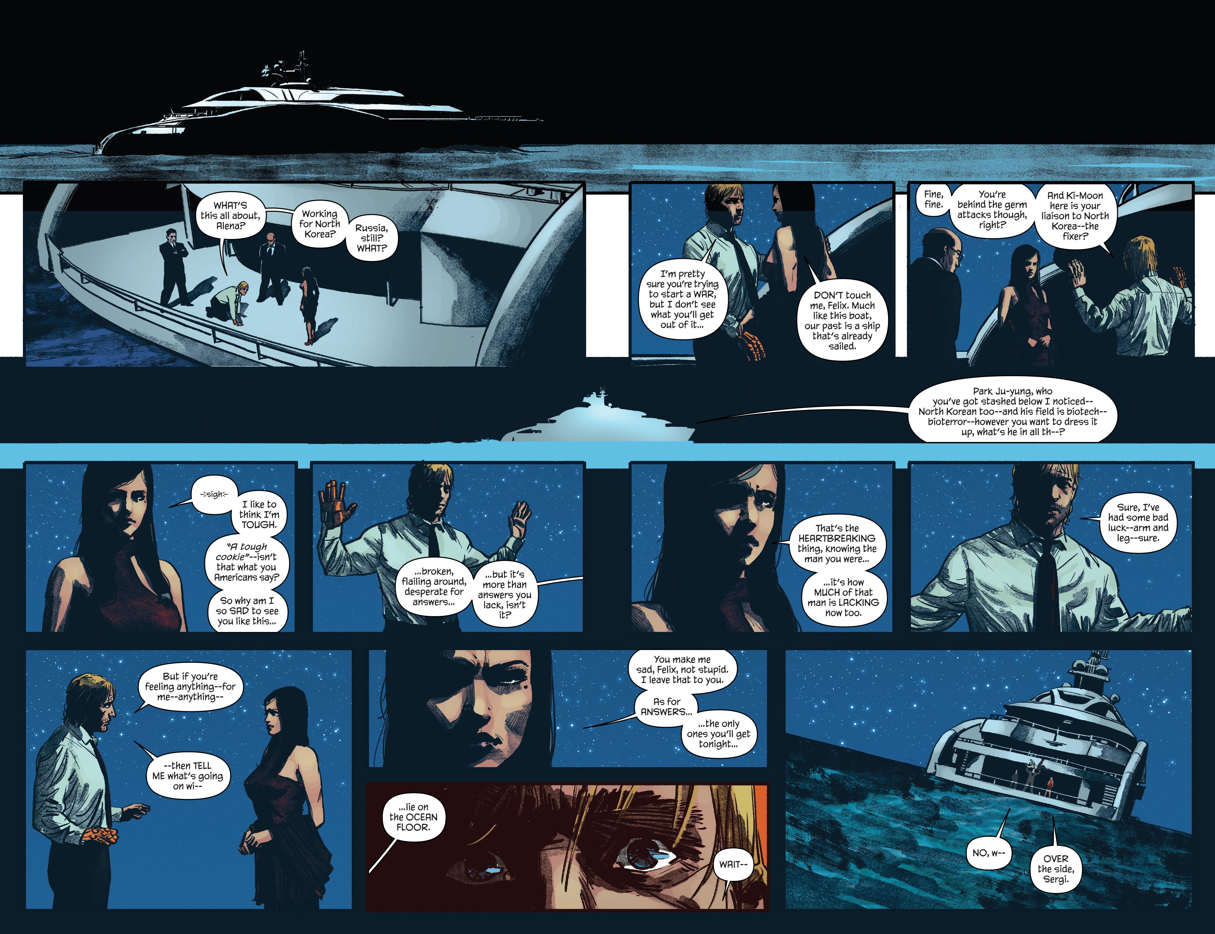 Read online James Bond: Felix Leiter comic -  Issue #5 - 18