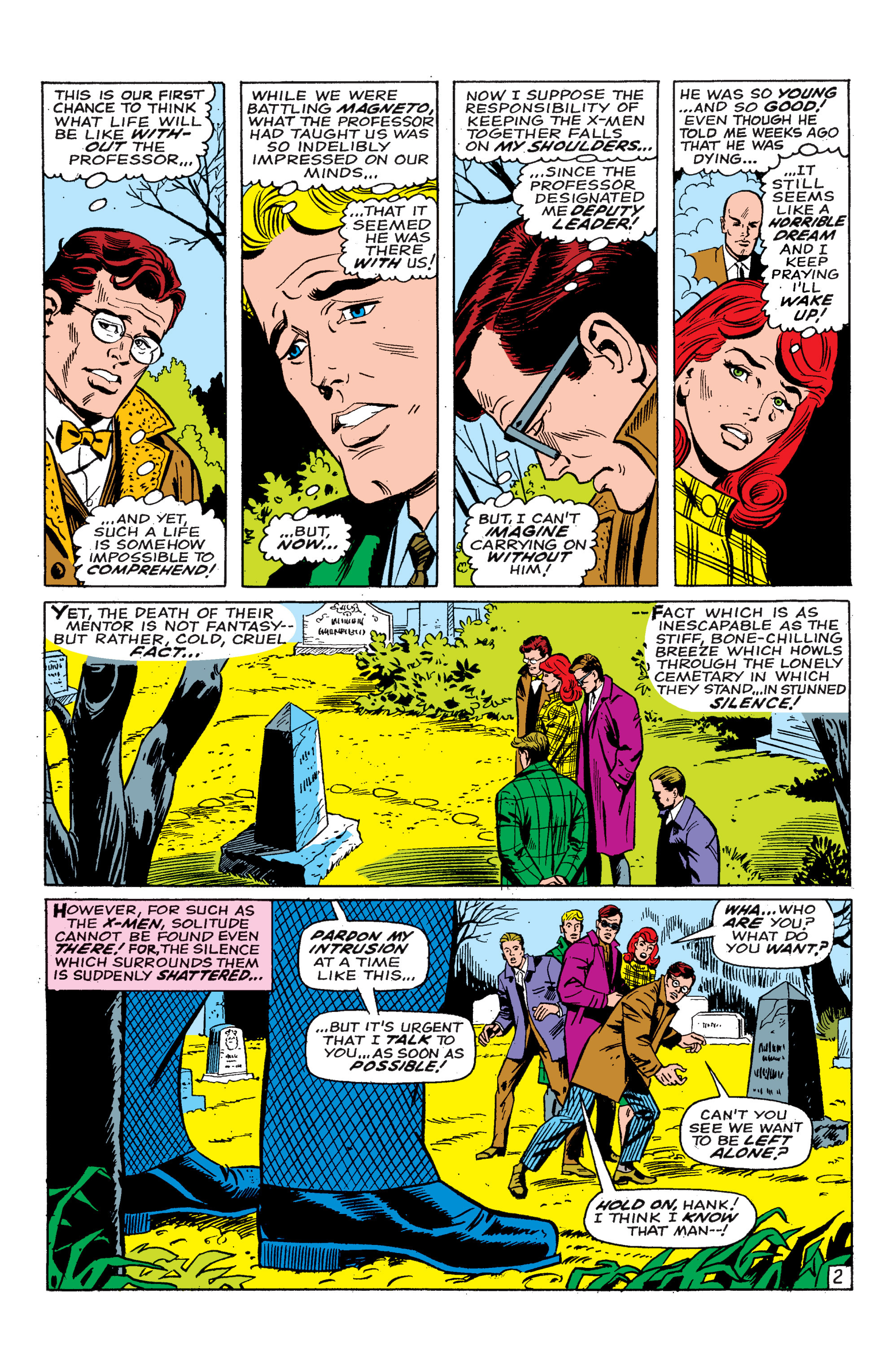 Read online Uncanny X-Men (1963) comic -  Issue #46 - 3