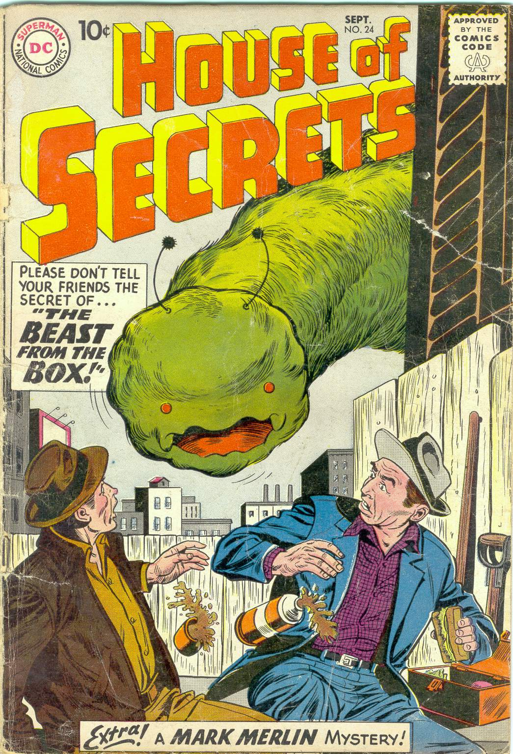 House of Secrets (1956) issue 24 - Page 1