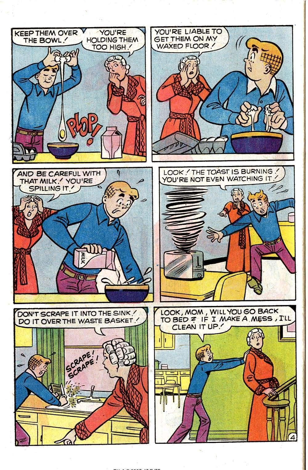 Read online Archie (1960) comic -  Issue #251 - 32