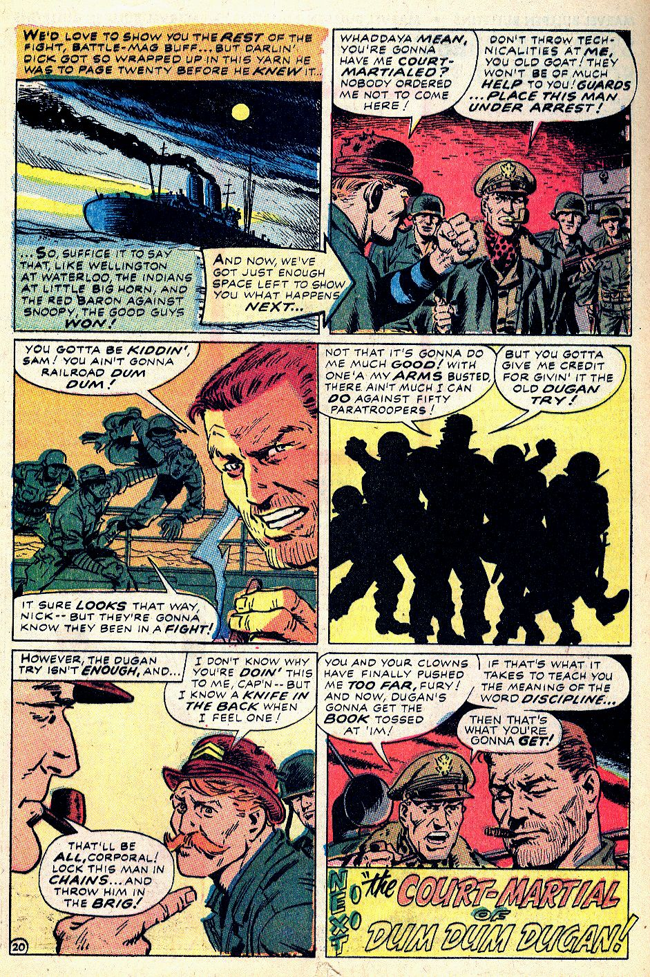 Read online Sgt. Fury comic -  Issue #59 - 29