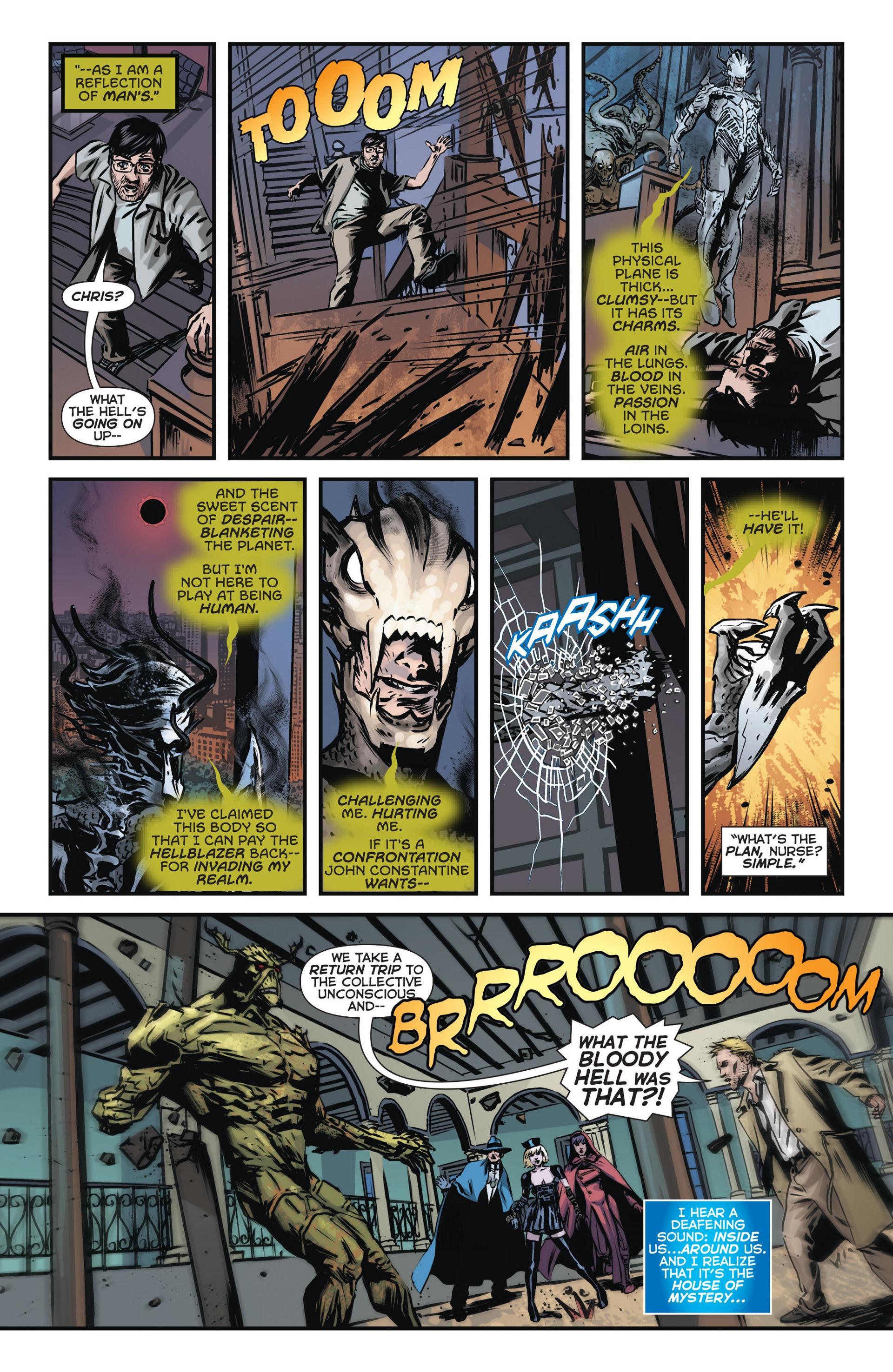 Read online Trinity of Sin: The Phantom Stranger comic -  Issue #14 - 20