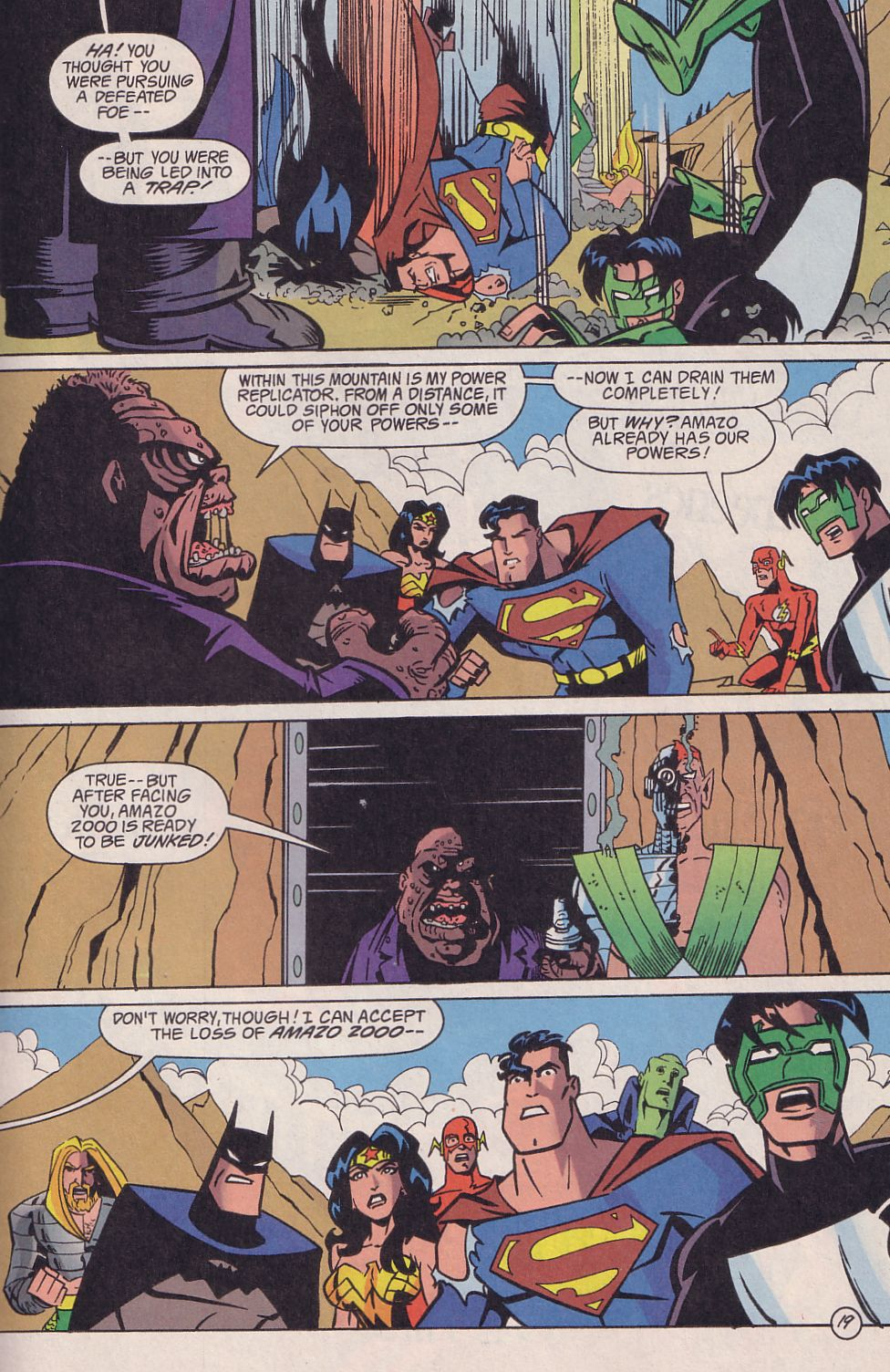 Read online Adventures in the DC Universe comic -  Issue #18 - 20