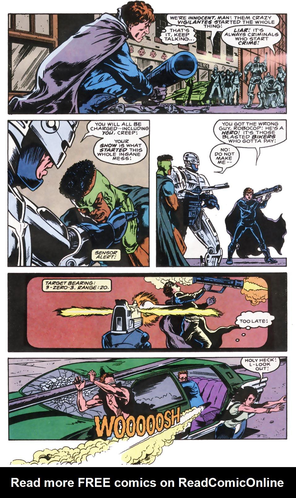 Read online Robocop (1990) comic -  Issue #10 - 21