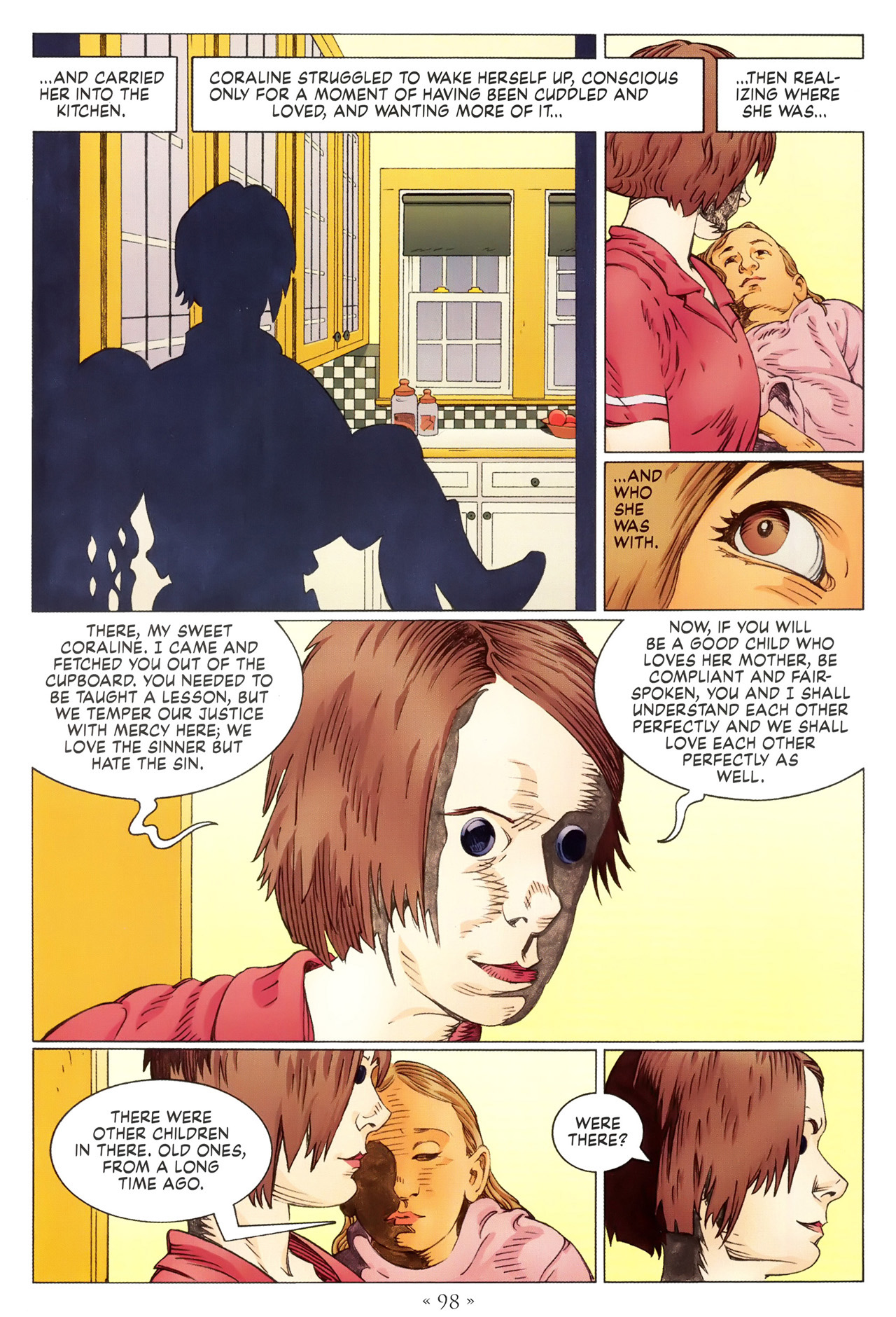Read online Coraline comic -  Issue #1 - 104