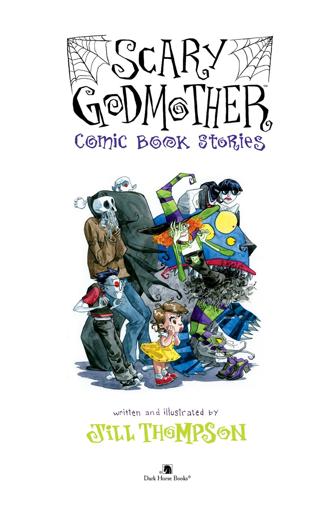 Read online Scary Godmother Comic Book Stories comic -  Issue # TPB - 2