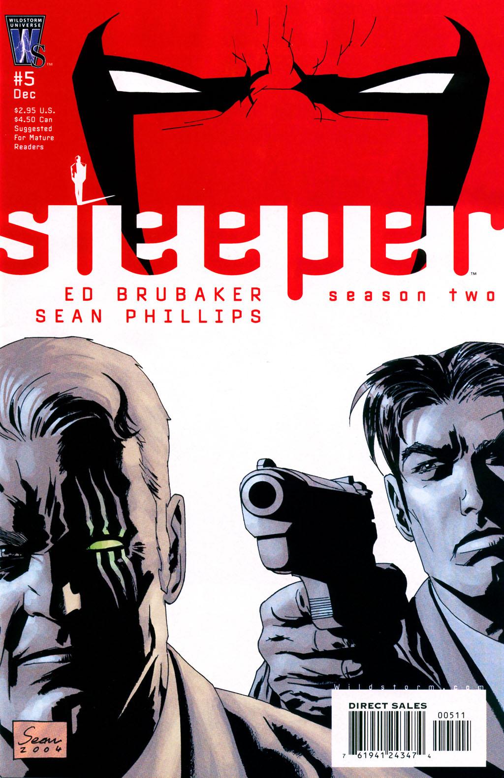 Read online Sleeper: Season Two comic -  Issue #5 - 1