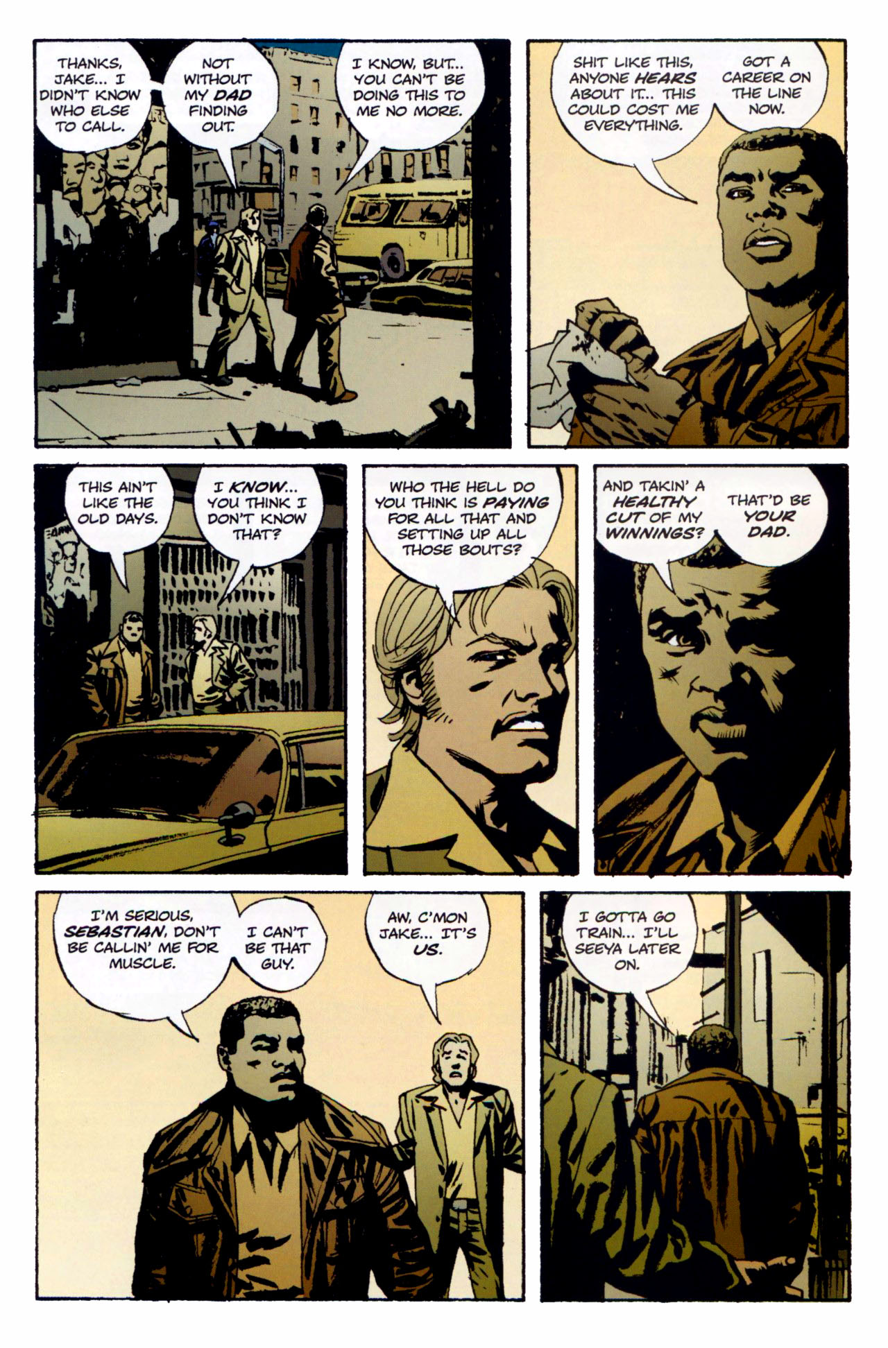 Read online Criminal (2008) comic -  Issue #1 - 8