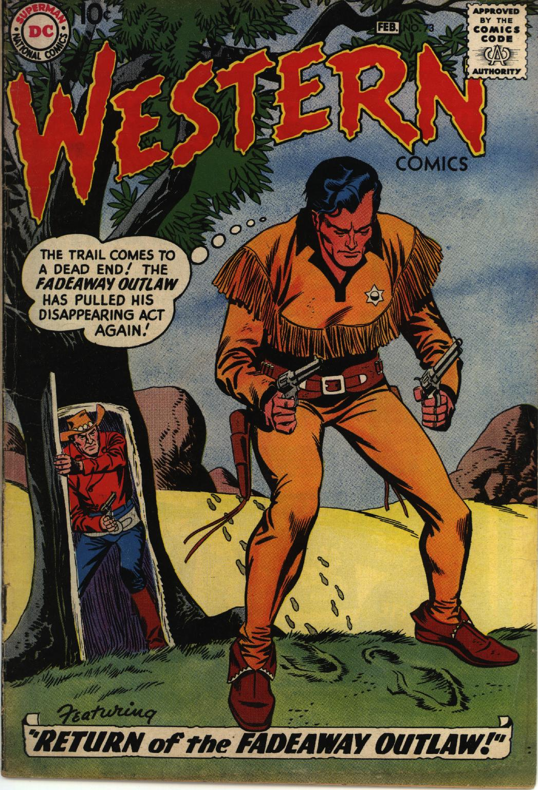 Western Comics 73 Page 1