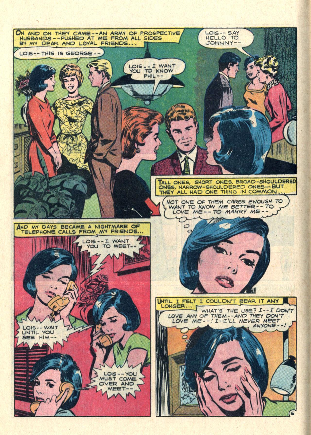 Read online Secret Hearts comic -  Issue #113 - 8