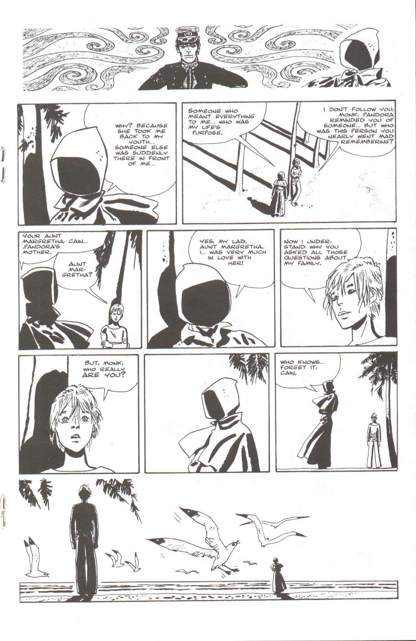 Read online Corto Maltese: Ballad of the Salt Sea comic -  Issue #6 - 15