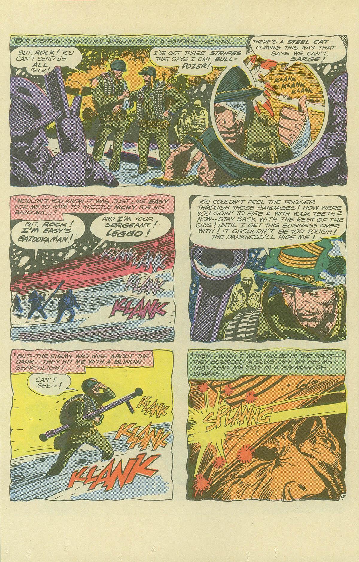 Read online Sgt. Rock comic -  Issue #404 - 12