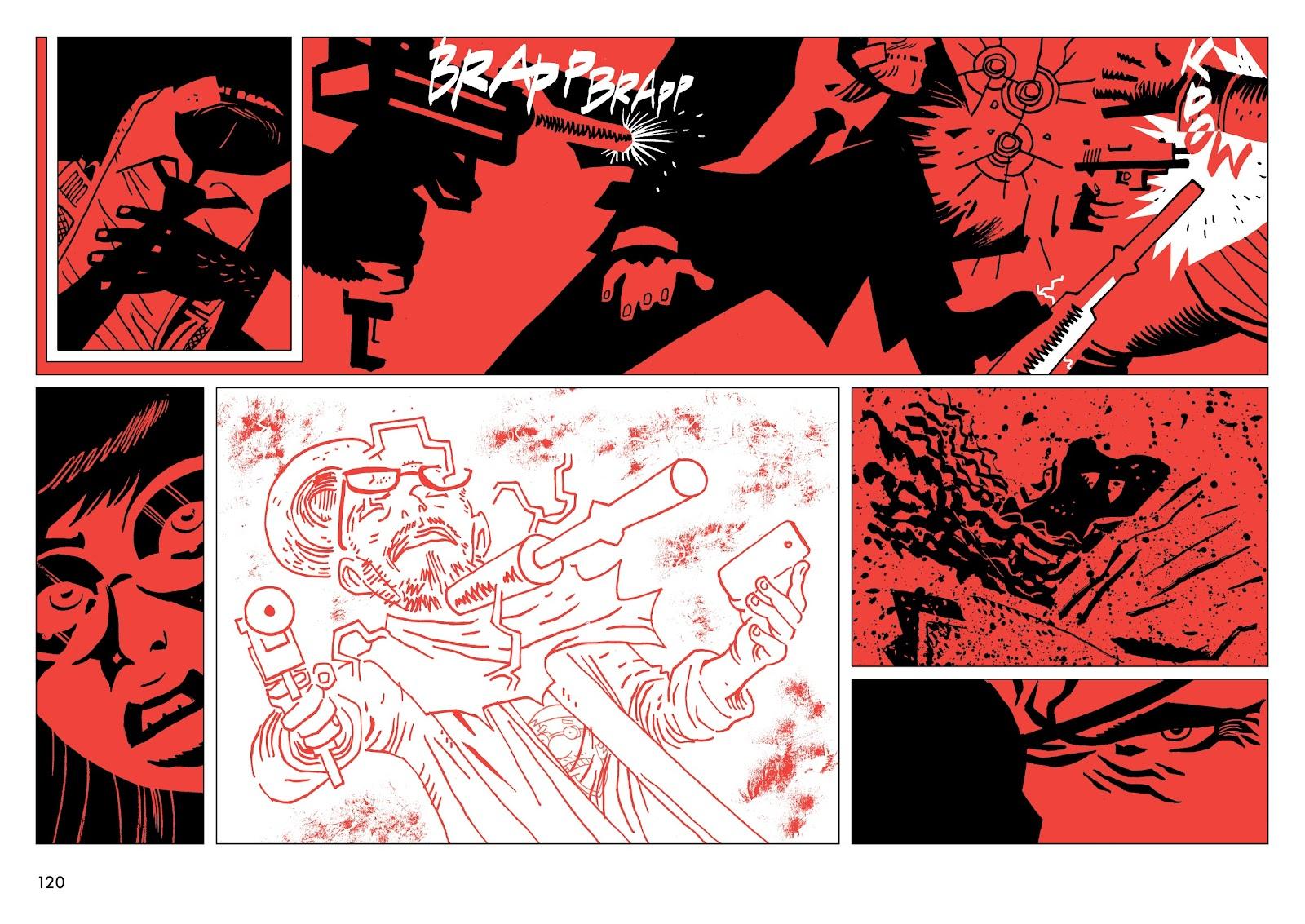Read online Polar comic -  Issue # TPB The Kaiser Falls (Part 2) - 22
