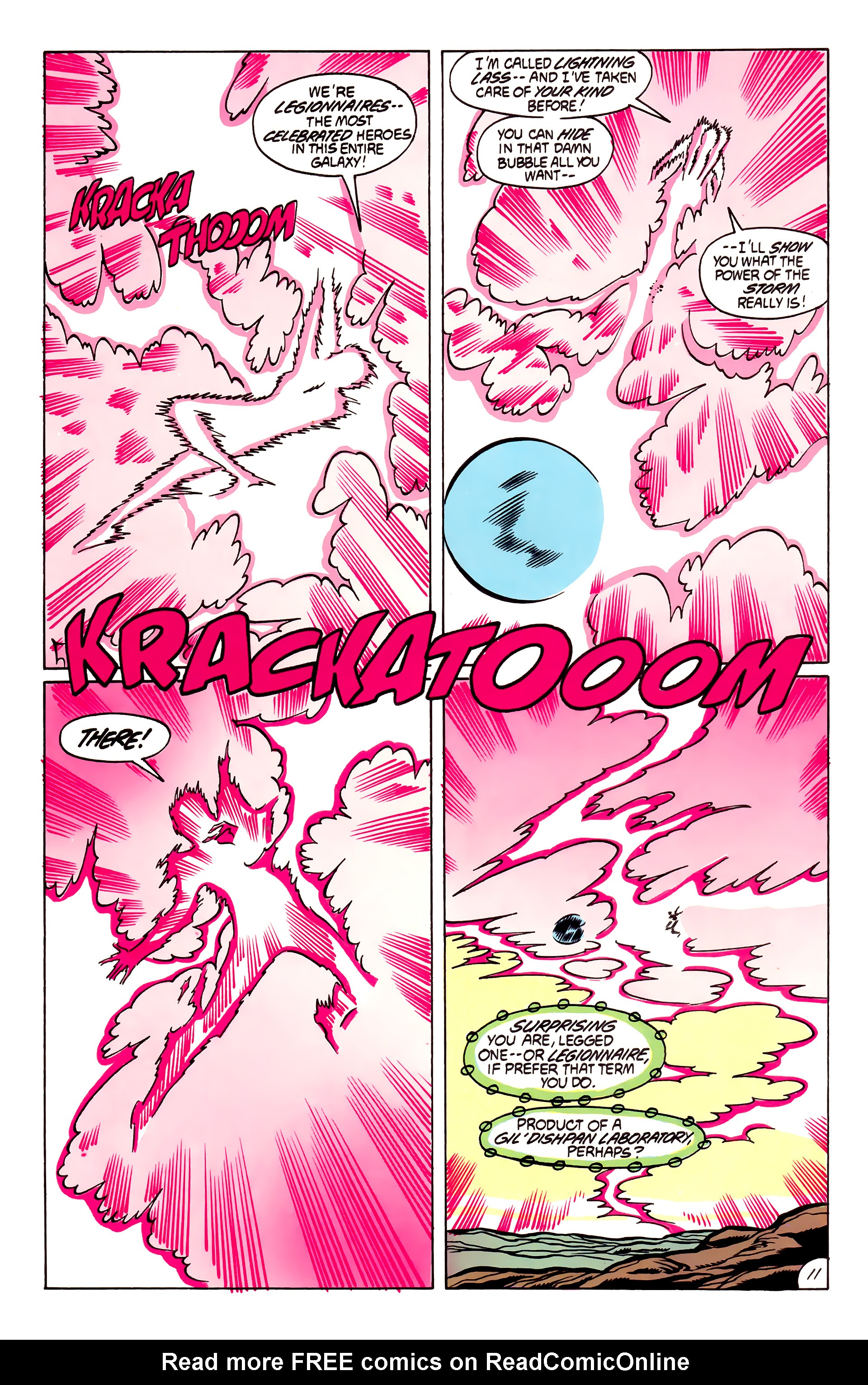 Legion of Super-Heroes (1984) 53 Page 11