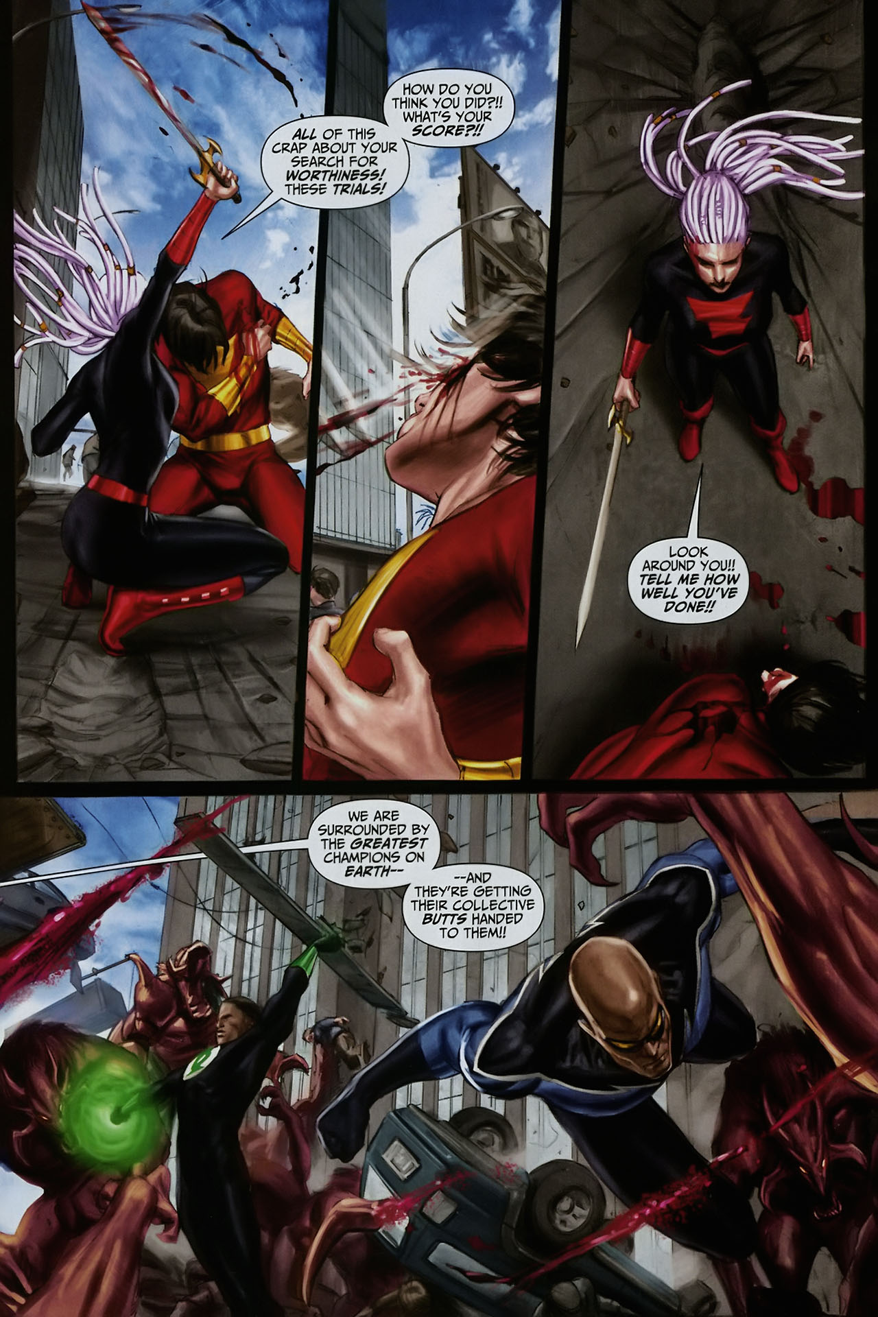 Read online Trials of Shazam comic -  Issue #12 - 16