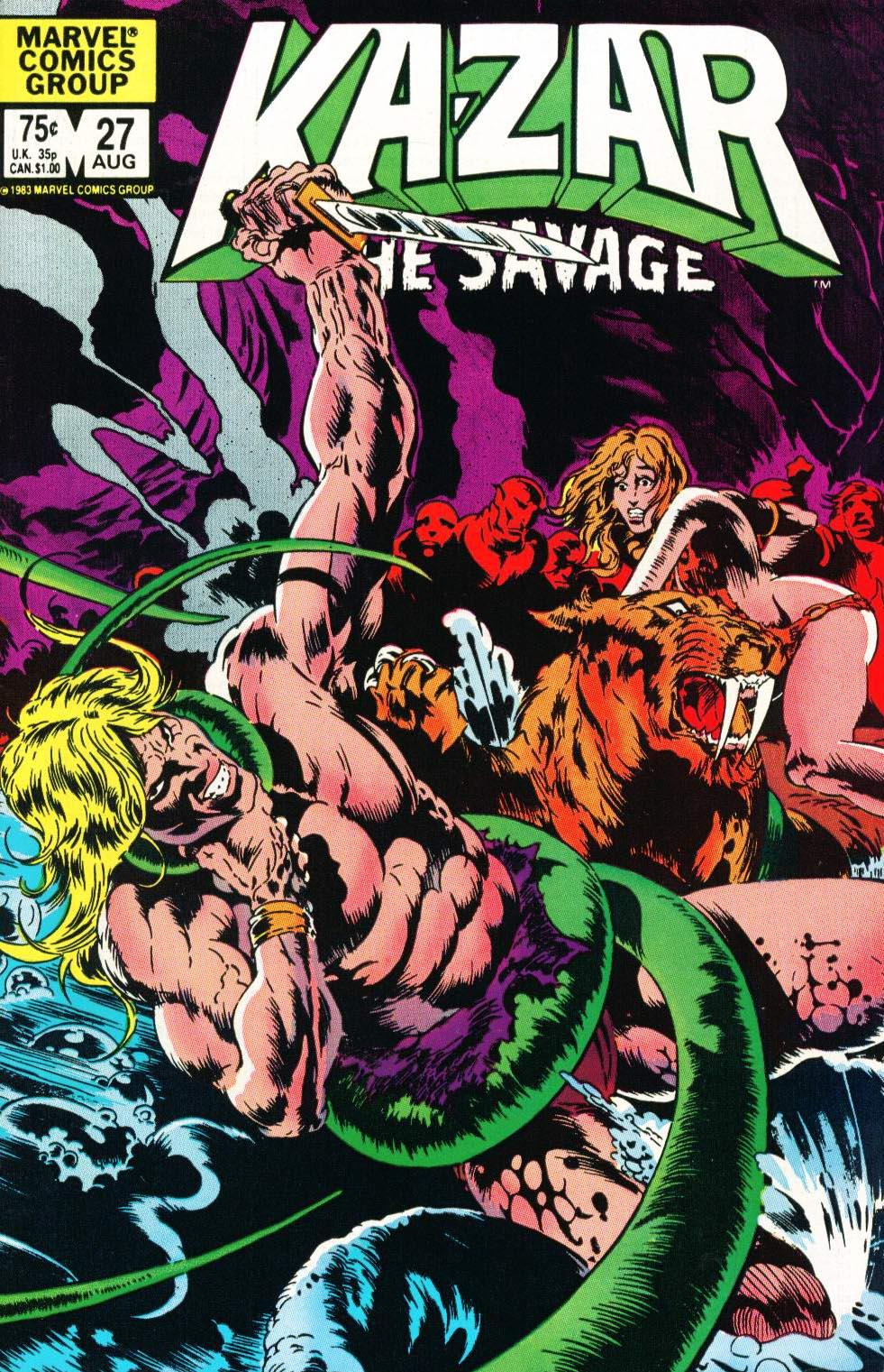 Ka-Zar the Savage 27 Page 1
