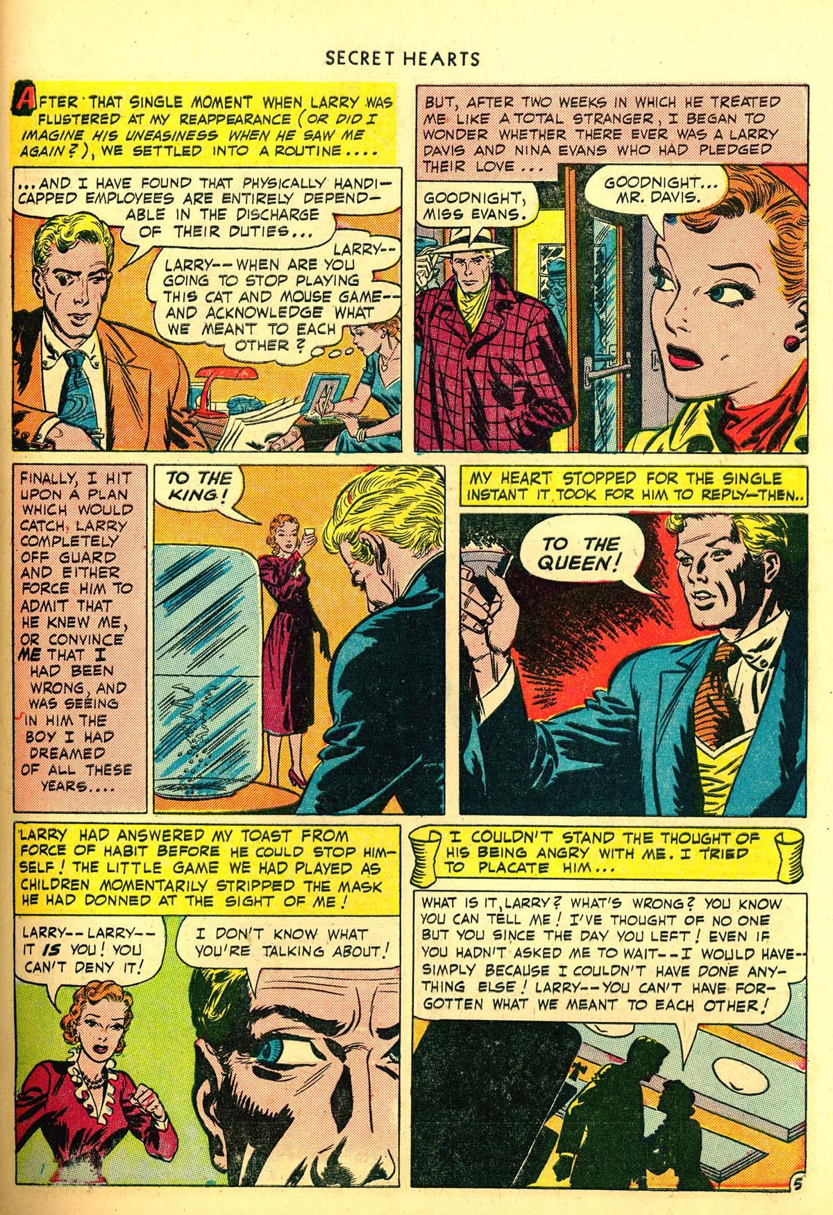 Read online Secret Hearts comic -  Issue #6 - 45